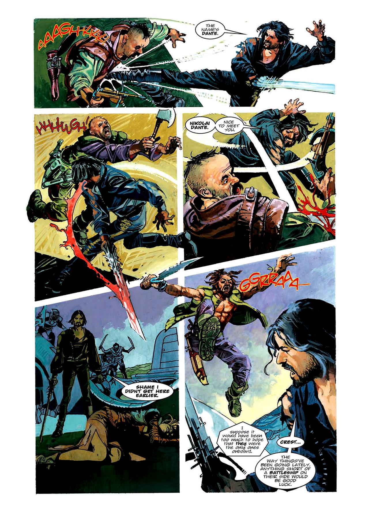 Read online Nikolai Dante comic -  Issue # TPB 6 - 88