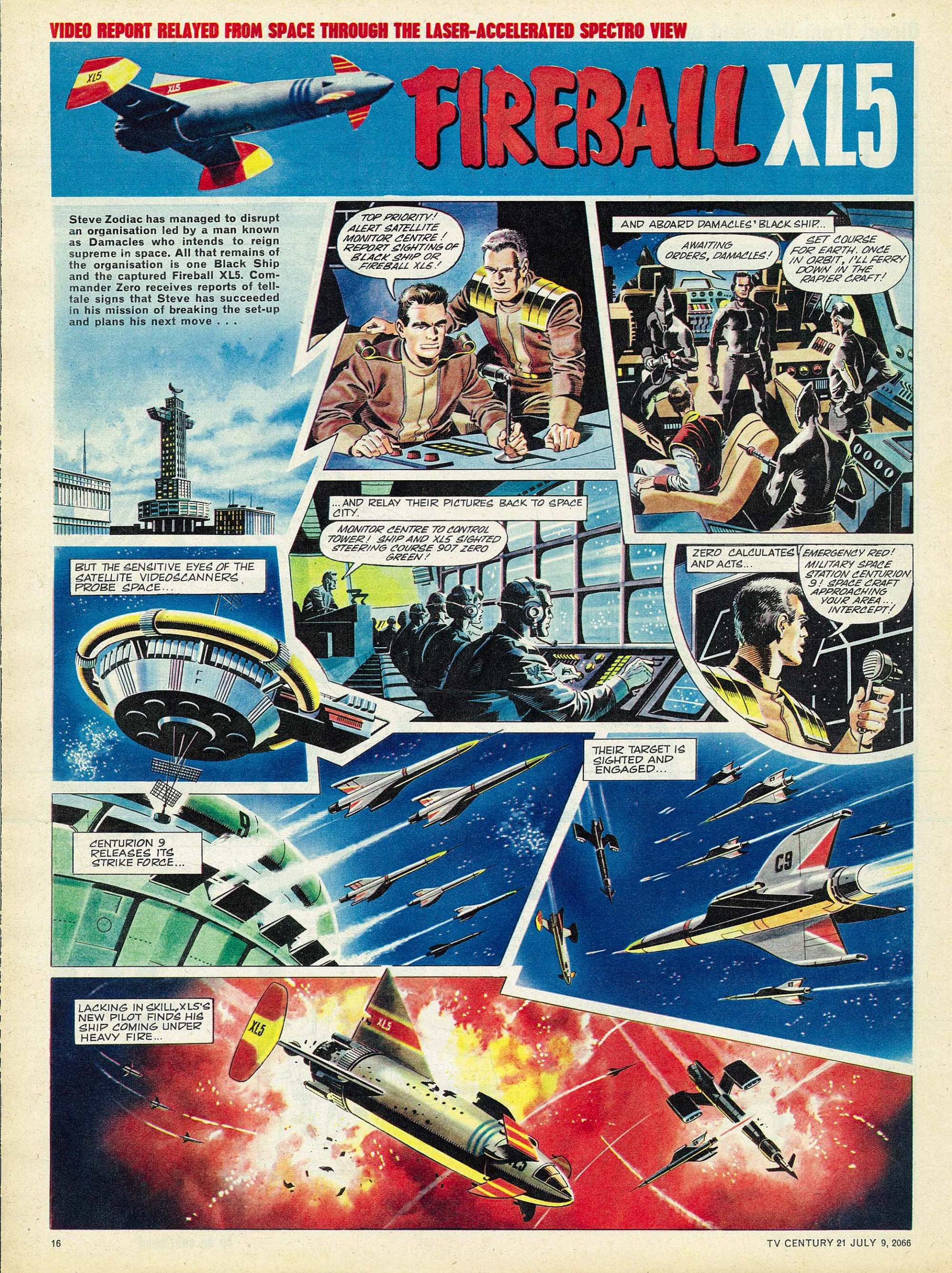 Read online TV Century 21 (TV 21) comic -  Issue #77 - 15