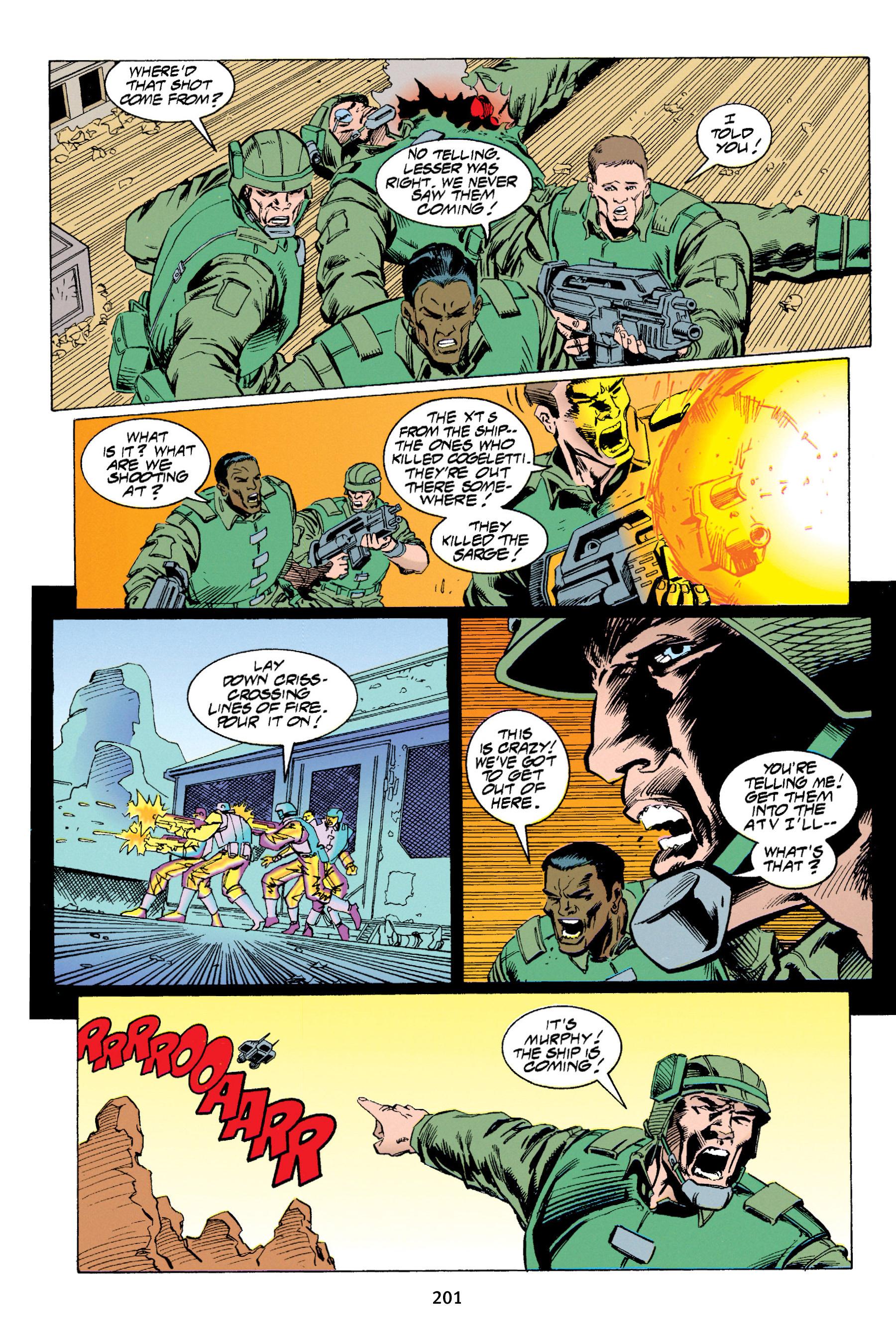 Read online Aliens vs. Predator Omnibus comic -  Issue # _TPB 1 Part 2 - 97