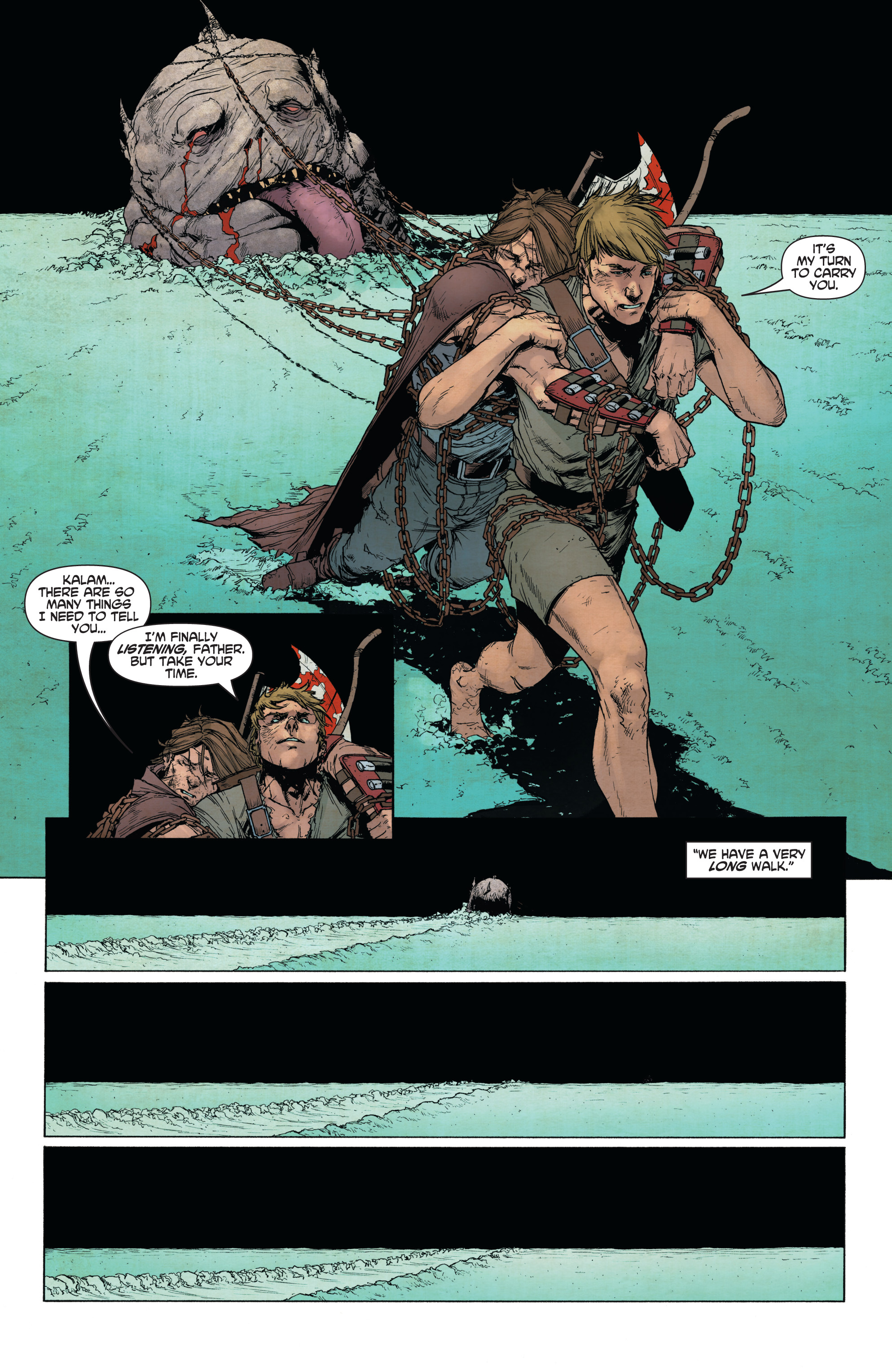 Read online Wrath of the Eternal Warrior comic -  Issue #14 - 15