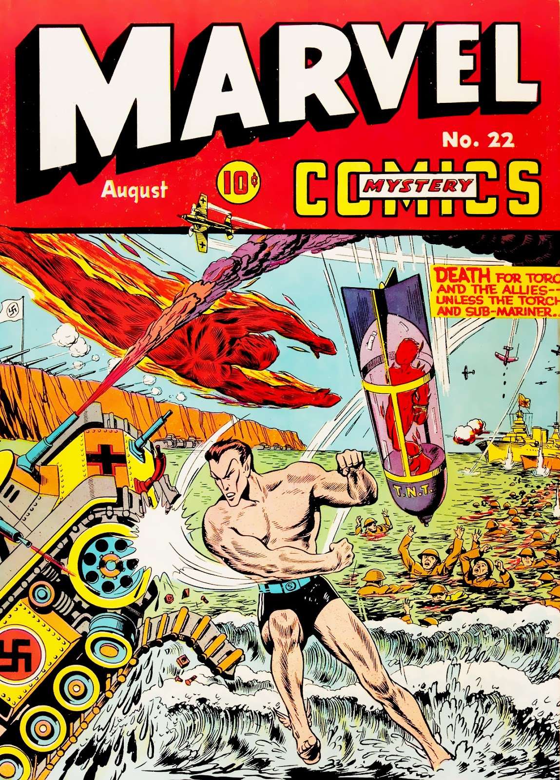 Marvel Mystery Comics (1939) issue 22 - Page 1