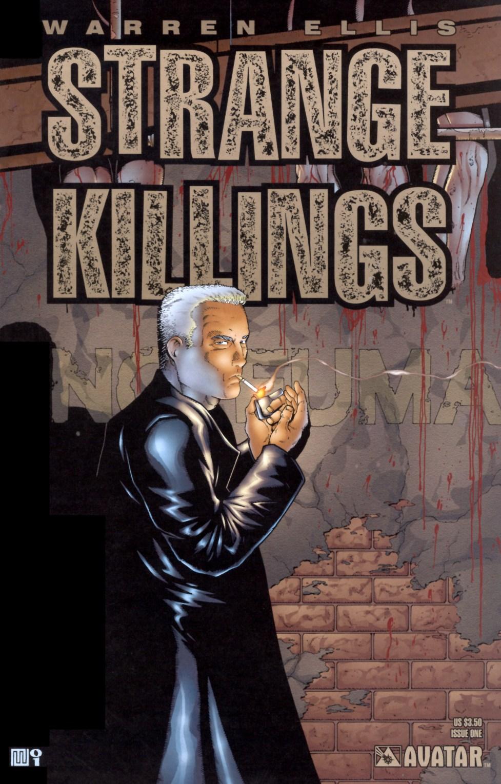 Strange Killings 1 Page 1