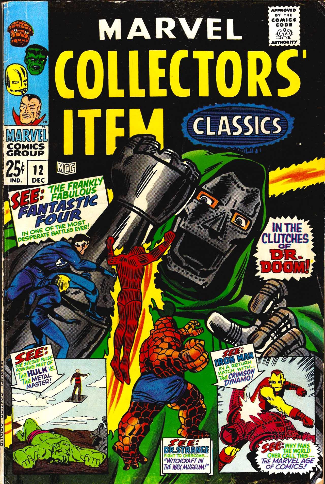 Marvel Collectors Item Classics 12 Page 1