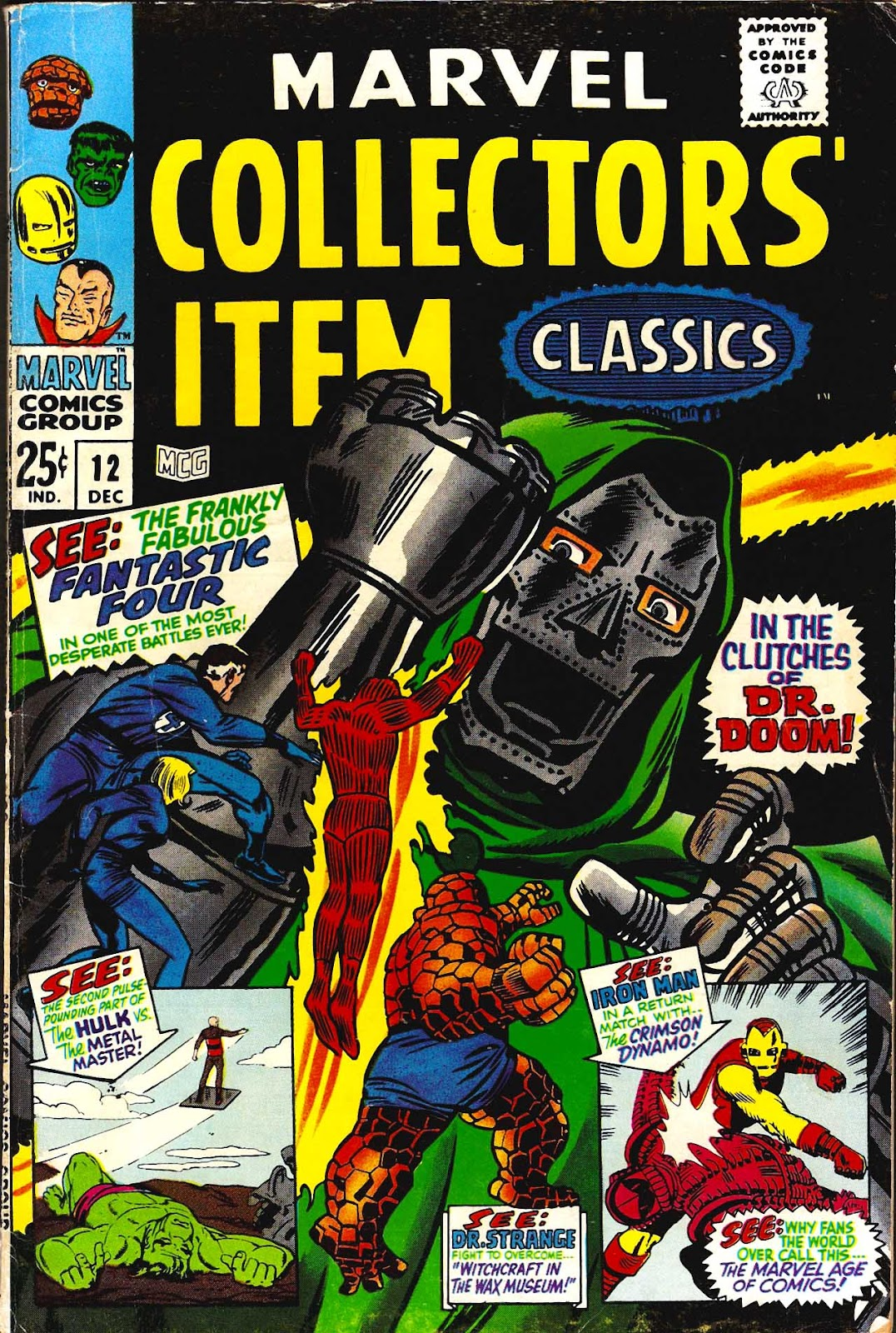 Marvel Collectors' Item Classics issue 12 - Page 1