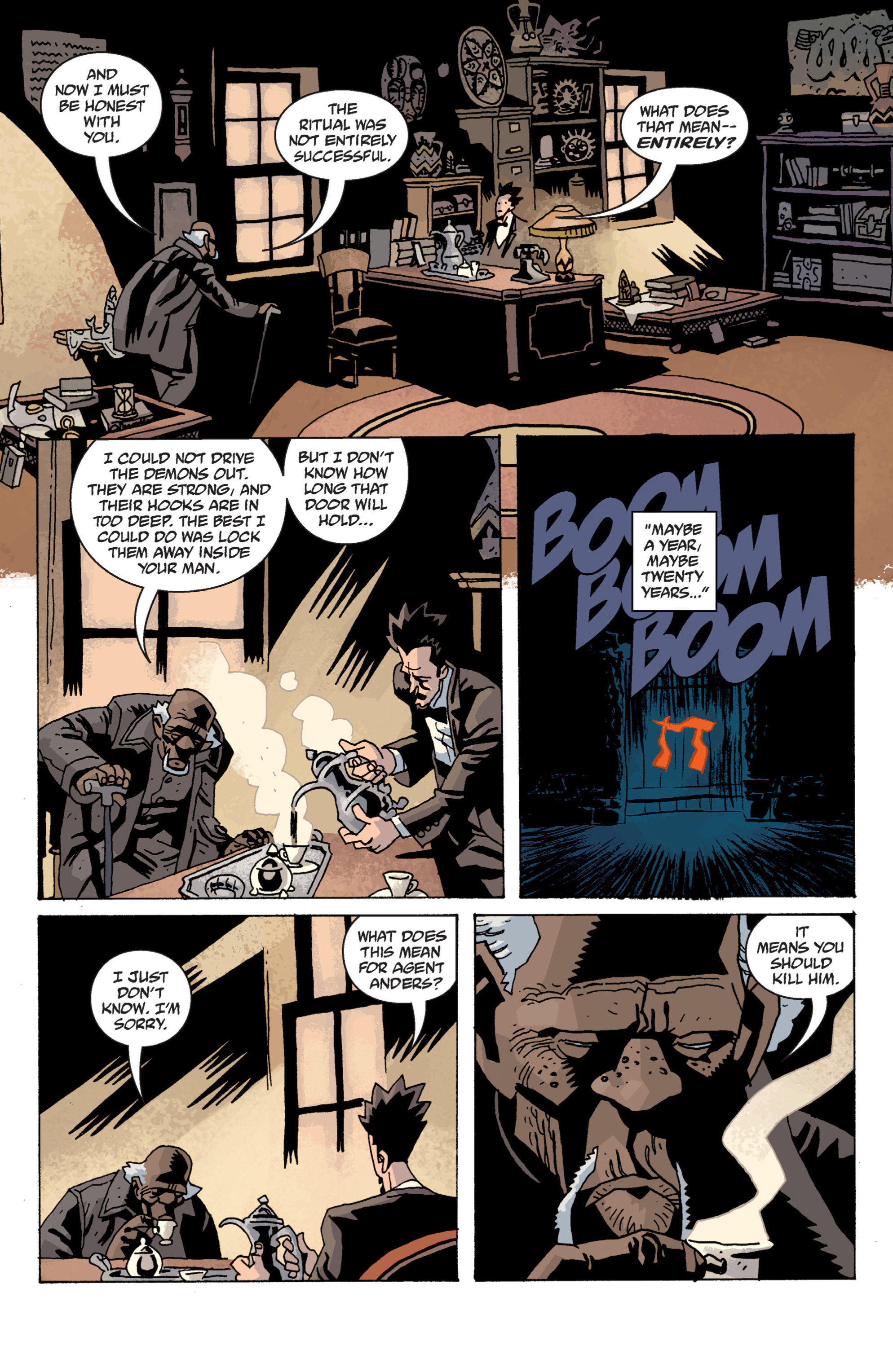 Read online B.P.R.D. (2003) comic -  Issue # TPB 13 - 131