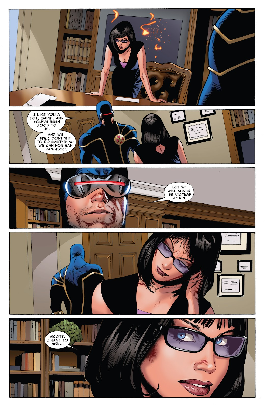 Uncanny X-Men (1963) issue 543 - Page 21