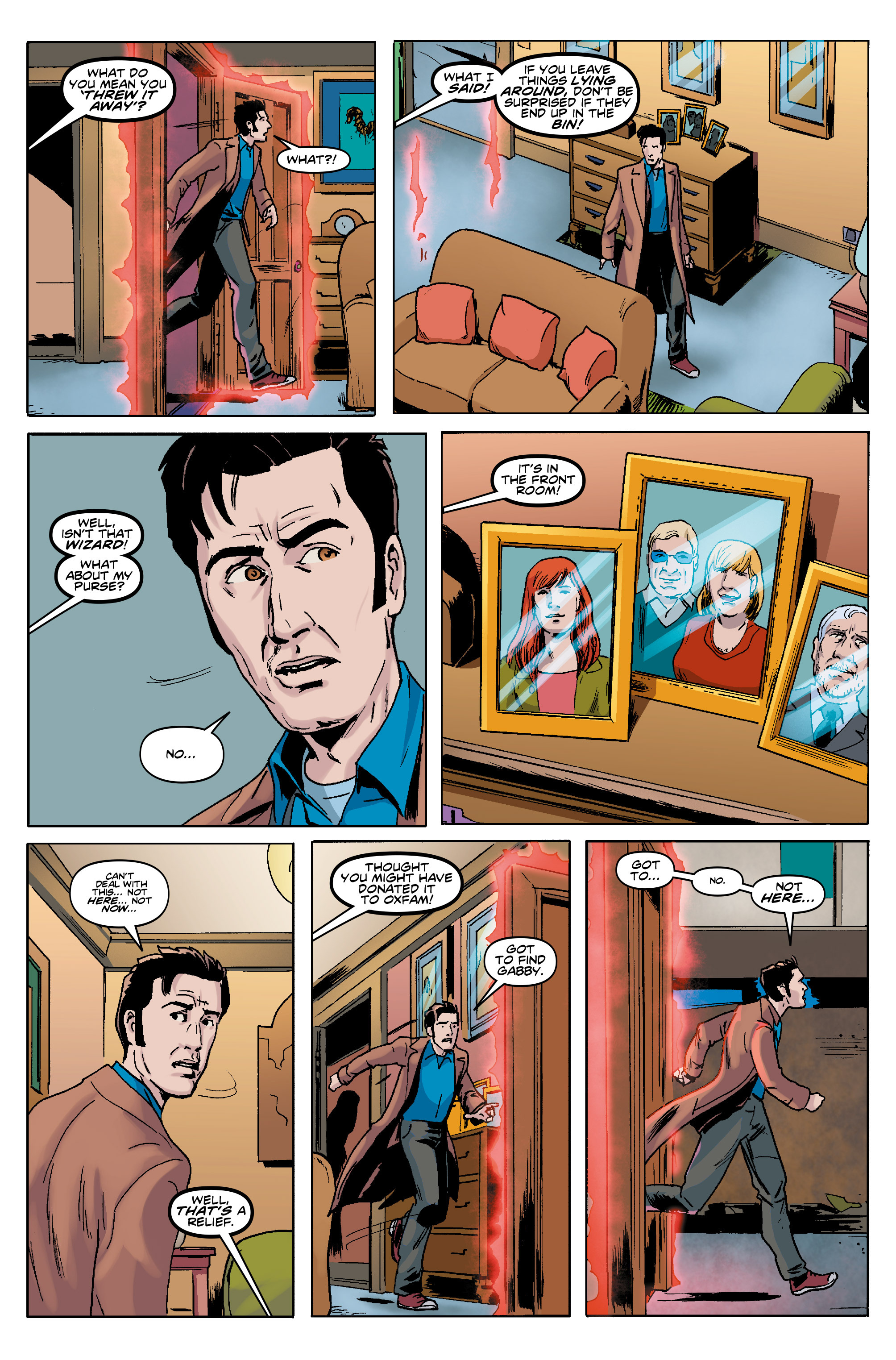 Read online Doctor Who: The Tenth Doctor Year Three comic -  Issue #5 - 21