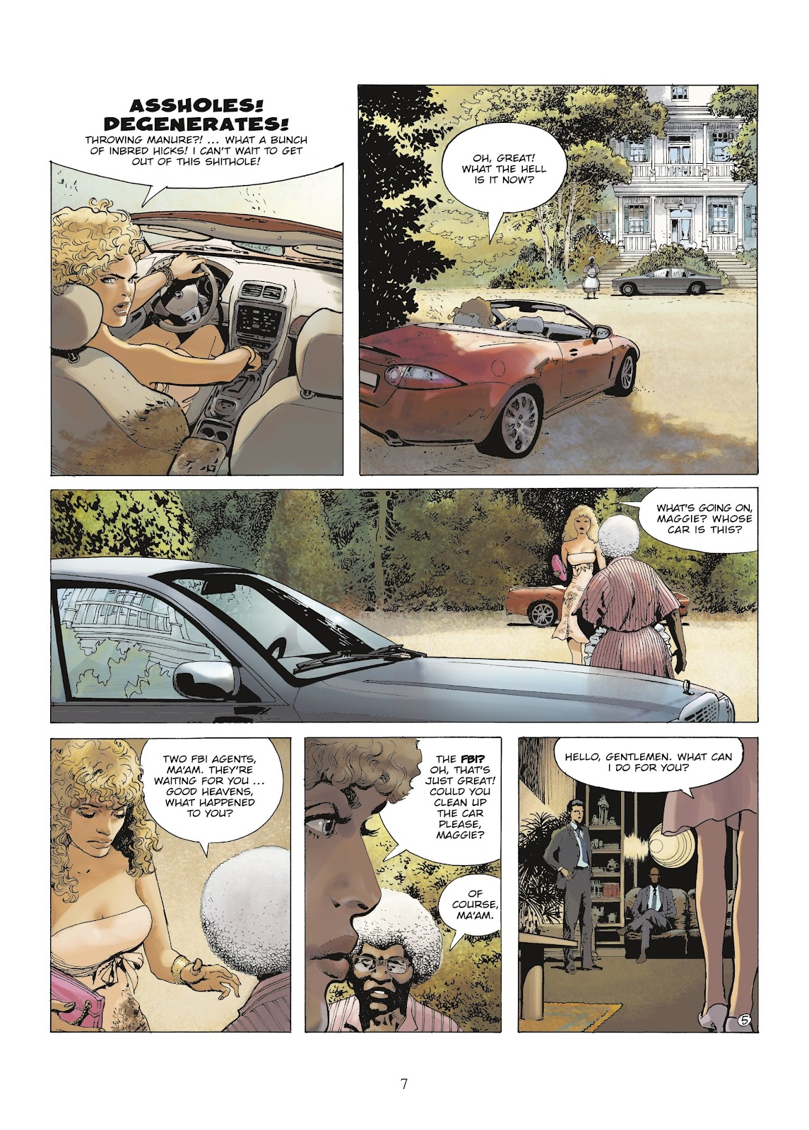 XIII Mystery issue 9 - Page 9