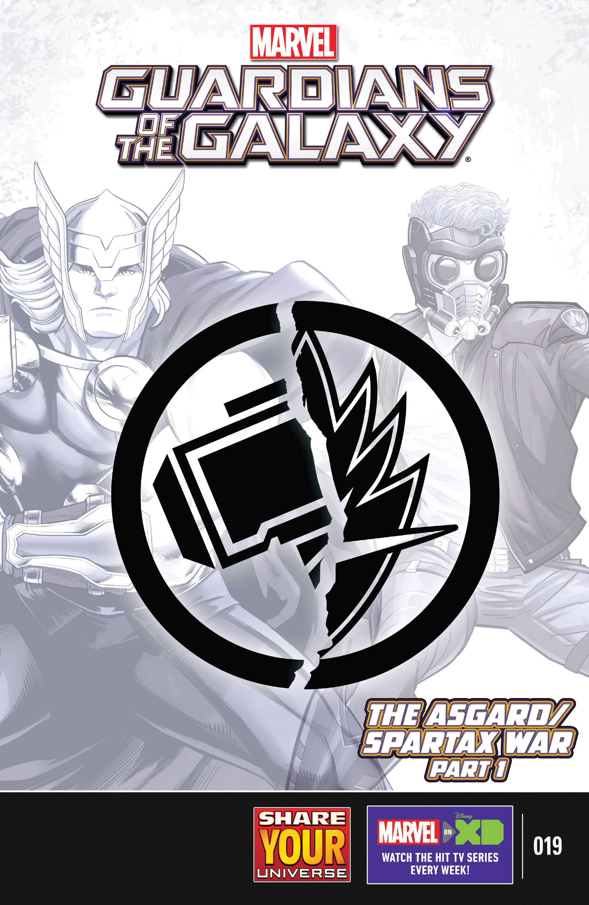 Read online Marvel Universe Guardians of the Galaxy [II] comic -  Issue #19 - 1