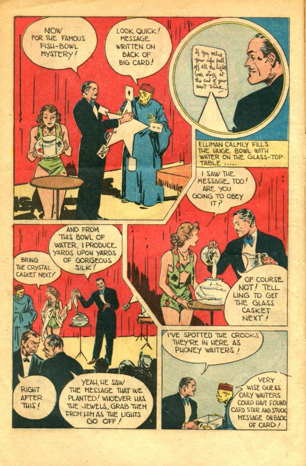 Read online Super-Magician Comics comic -  Issue #48 - 8