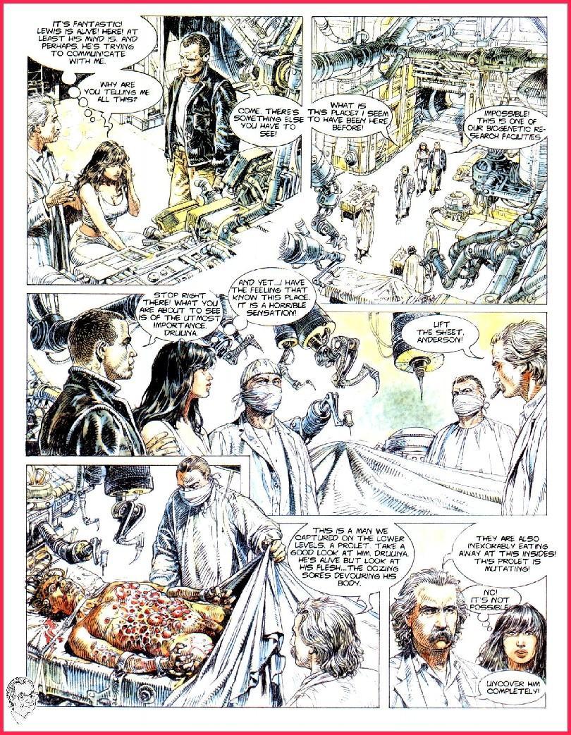 Druuna Issue 3 | Read Druuna Issue 3 comic online in high