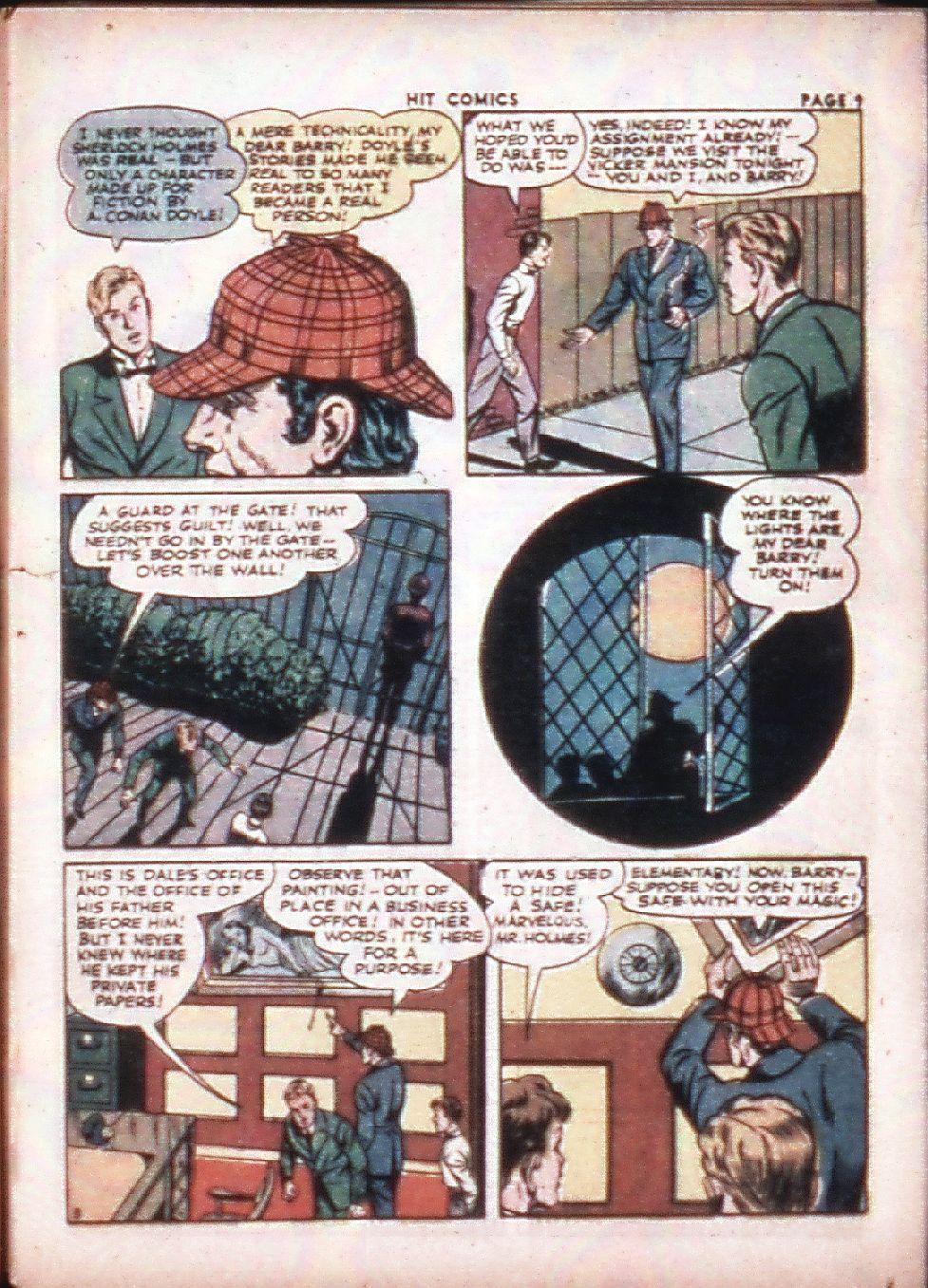 Read online Hit Comics comic -  Issue #29 - 11