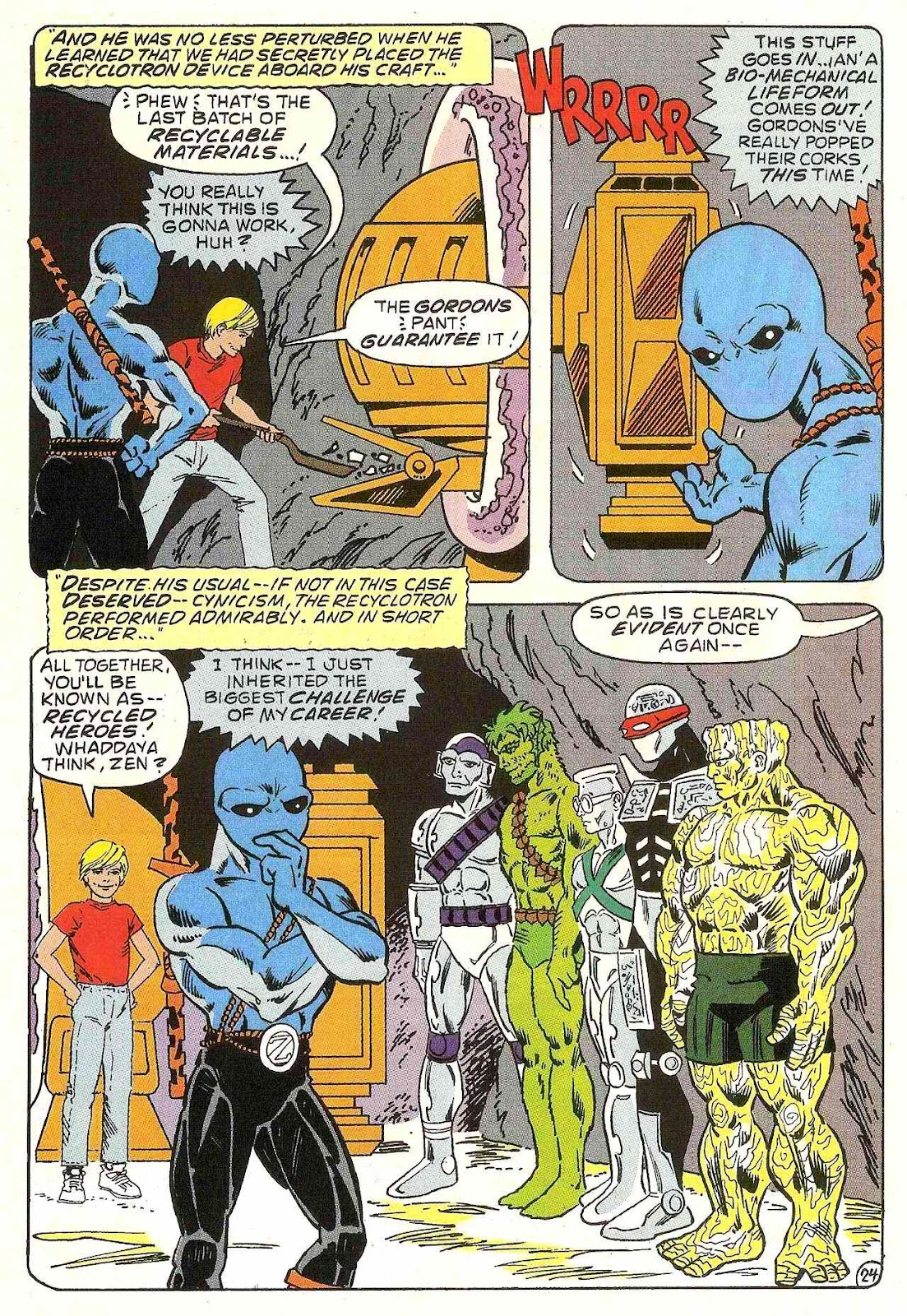 Read online Zen Intergalactic Ninja (1992) comic -  Issue #1 - 25