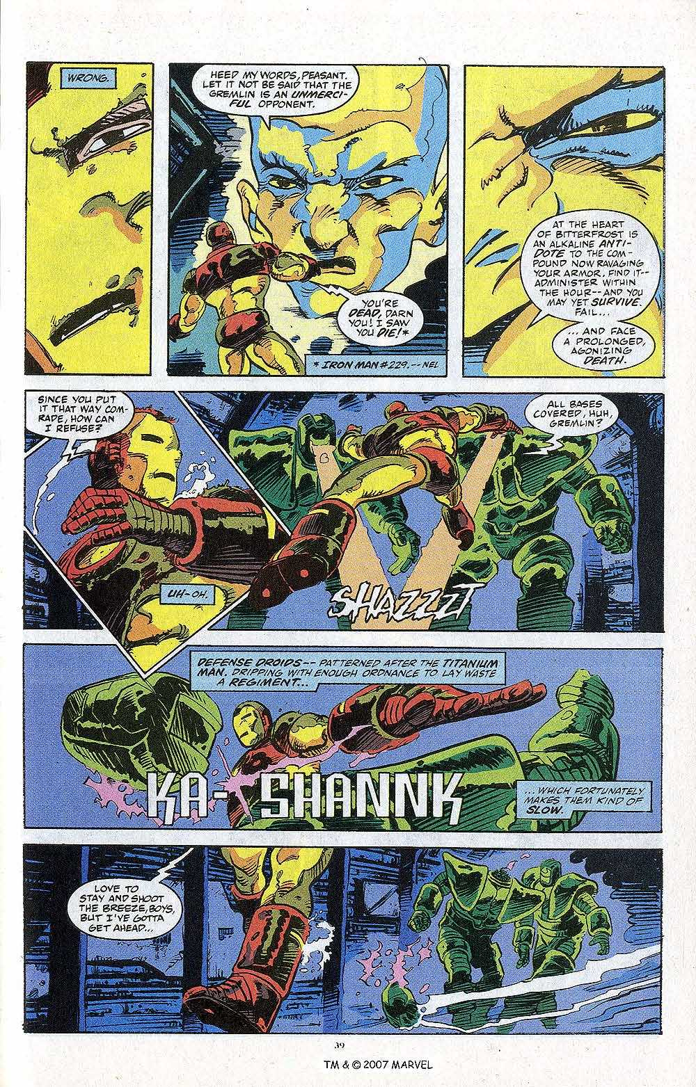 Iron Man Annual issue 13 - Page 41