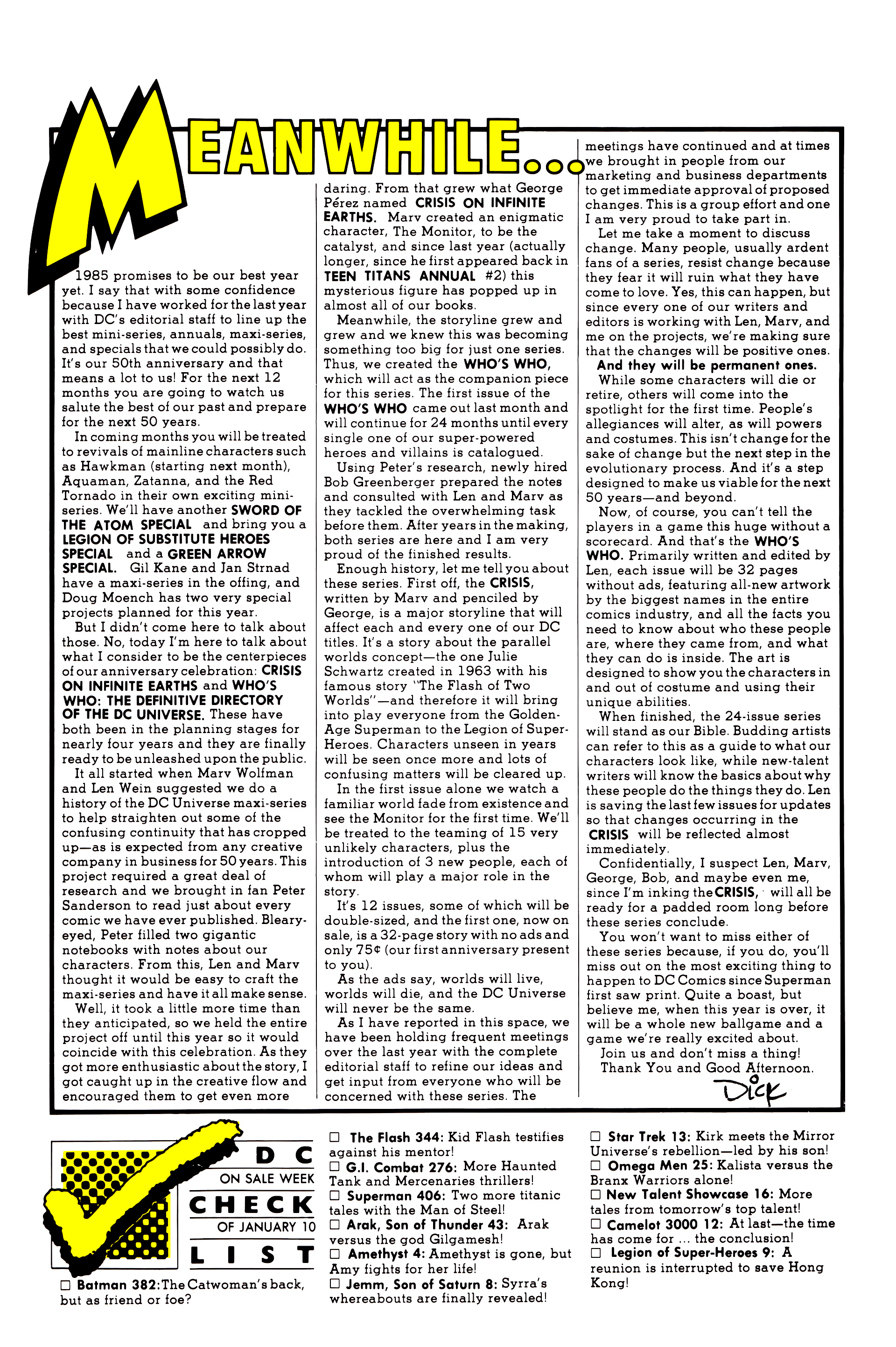 Legion of Super-Heroes (1984) 9 Page 27