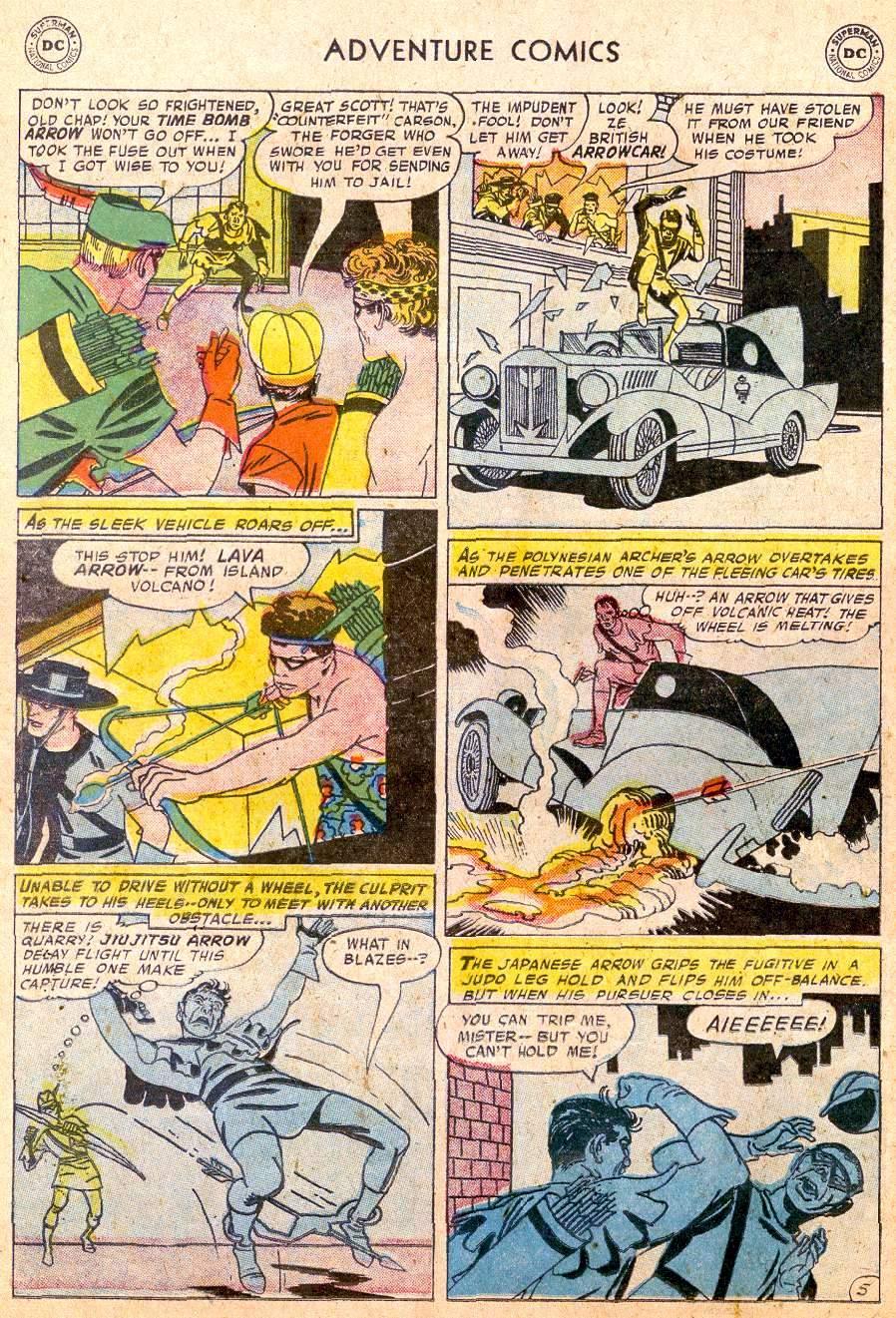 Read online Adventure Comics (1938) comic -  Issue #250 - 22