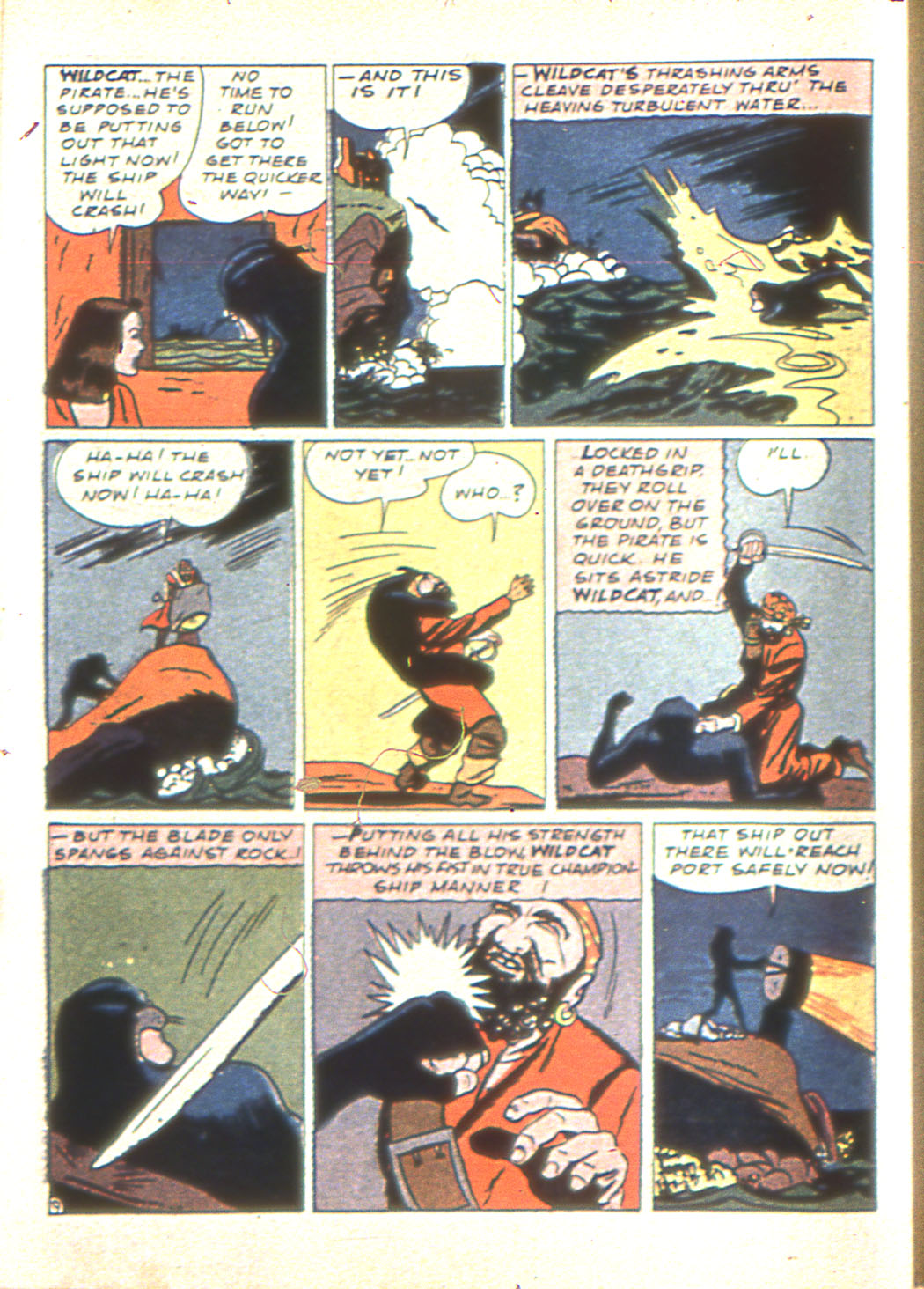Read online Sensation (Mystery) Comics comic -  Issue #6 - 64