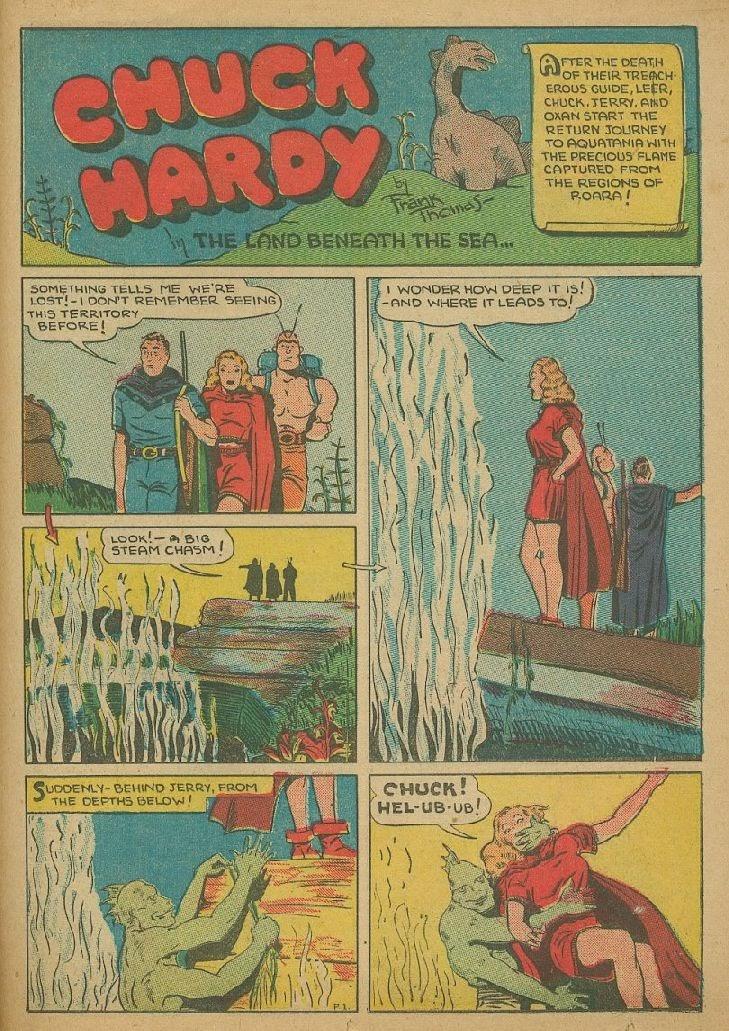 Read online Amazing Man Comics comic -  Issue #9 - 44