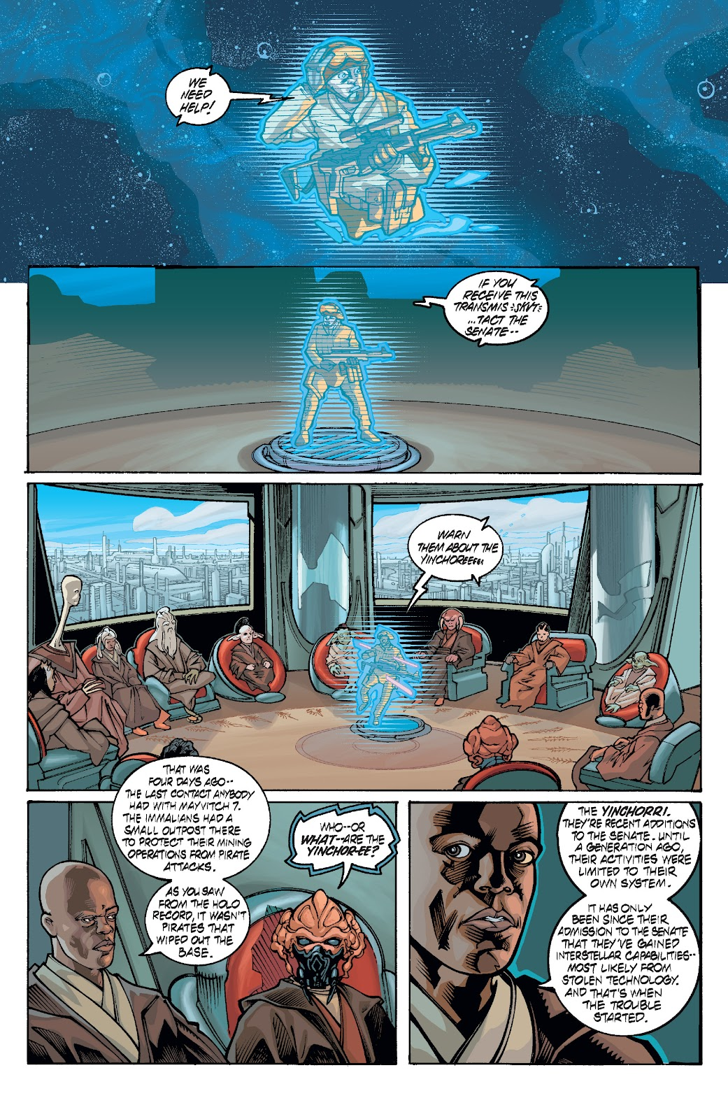 Read online Star Wars Legends: Rise of the Sith - Epic Collection comic -  Issue # TPB 1 (Part 4) - 70