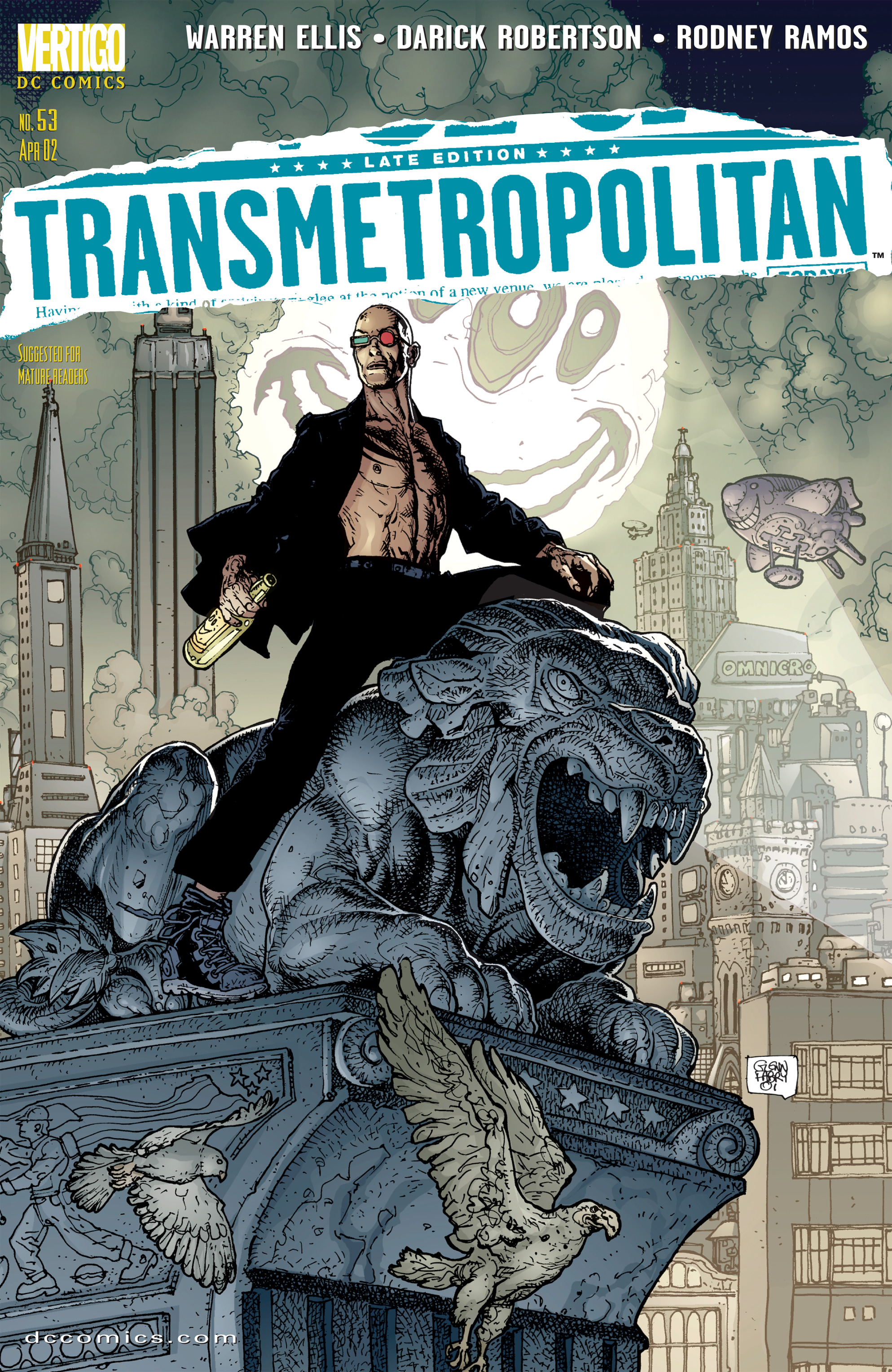 Read online Transmetropolitan comic -  Issue #53 - 1