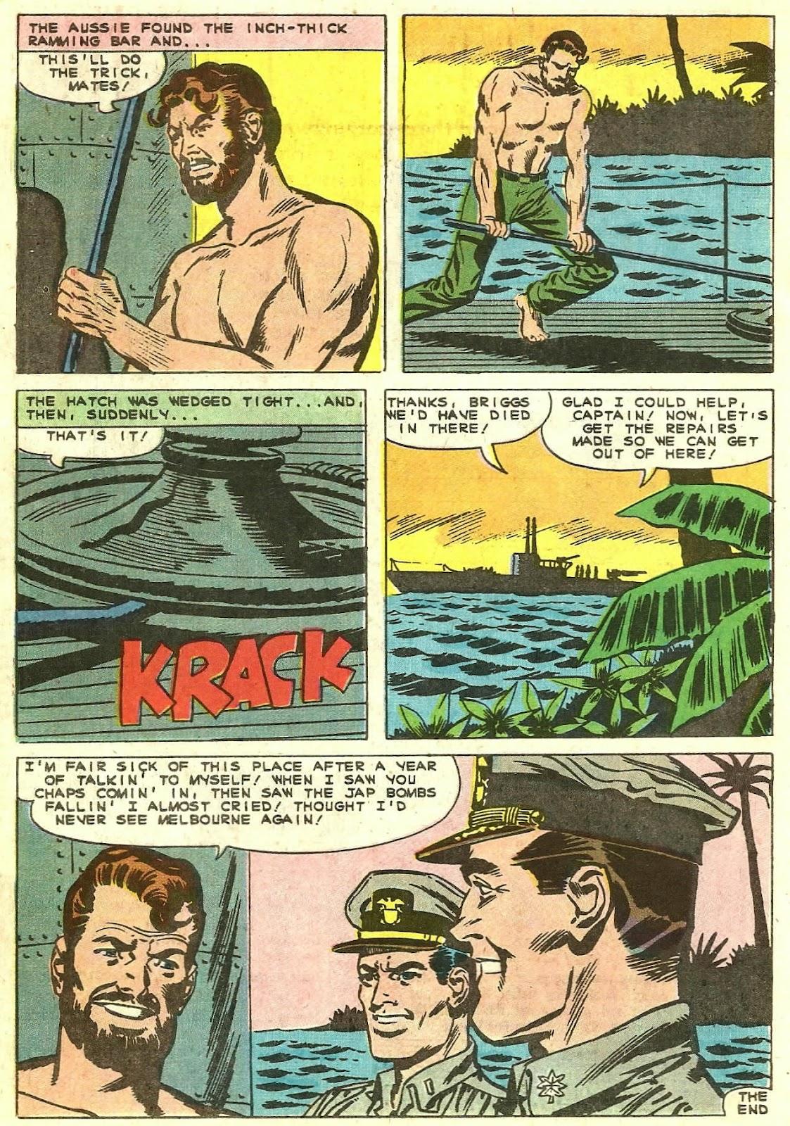 Read online Fightin' Navy comic -  Issue #130 - 16