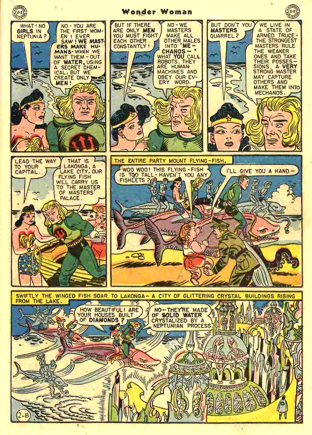 Read online Wonder Woman (1942) comic -  Issue #15 - 21