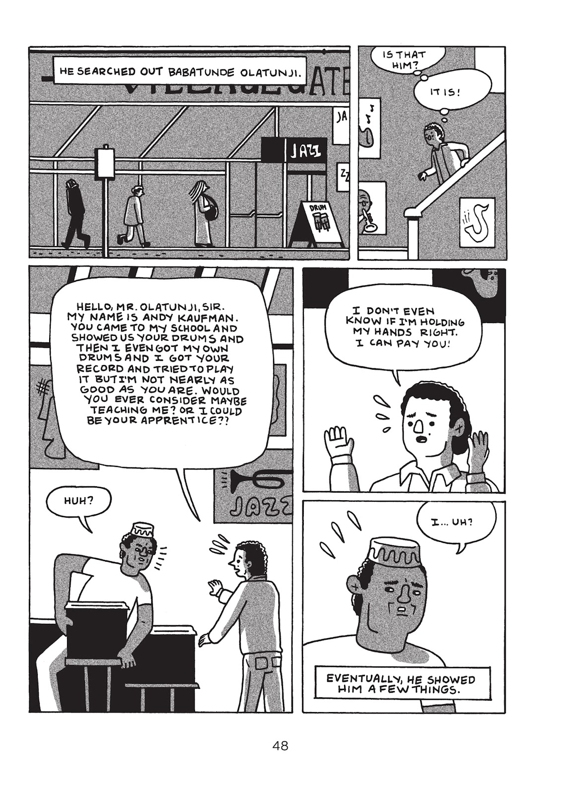 Read online Is This Guy For Real?: The Unbelievable Andy Kaufman comic -  Issue # TPB (Part 1) - 53
