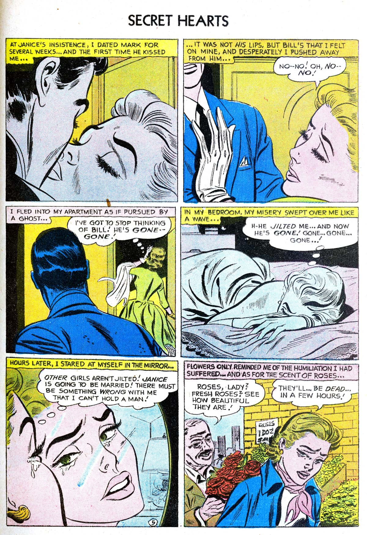 Read online Secret Hearts comic -  Issue #38 - 31