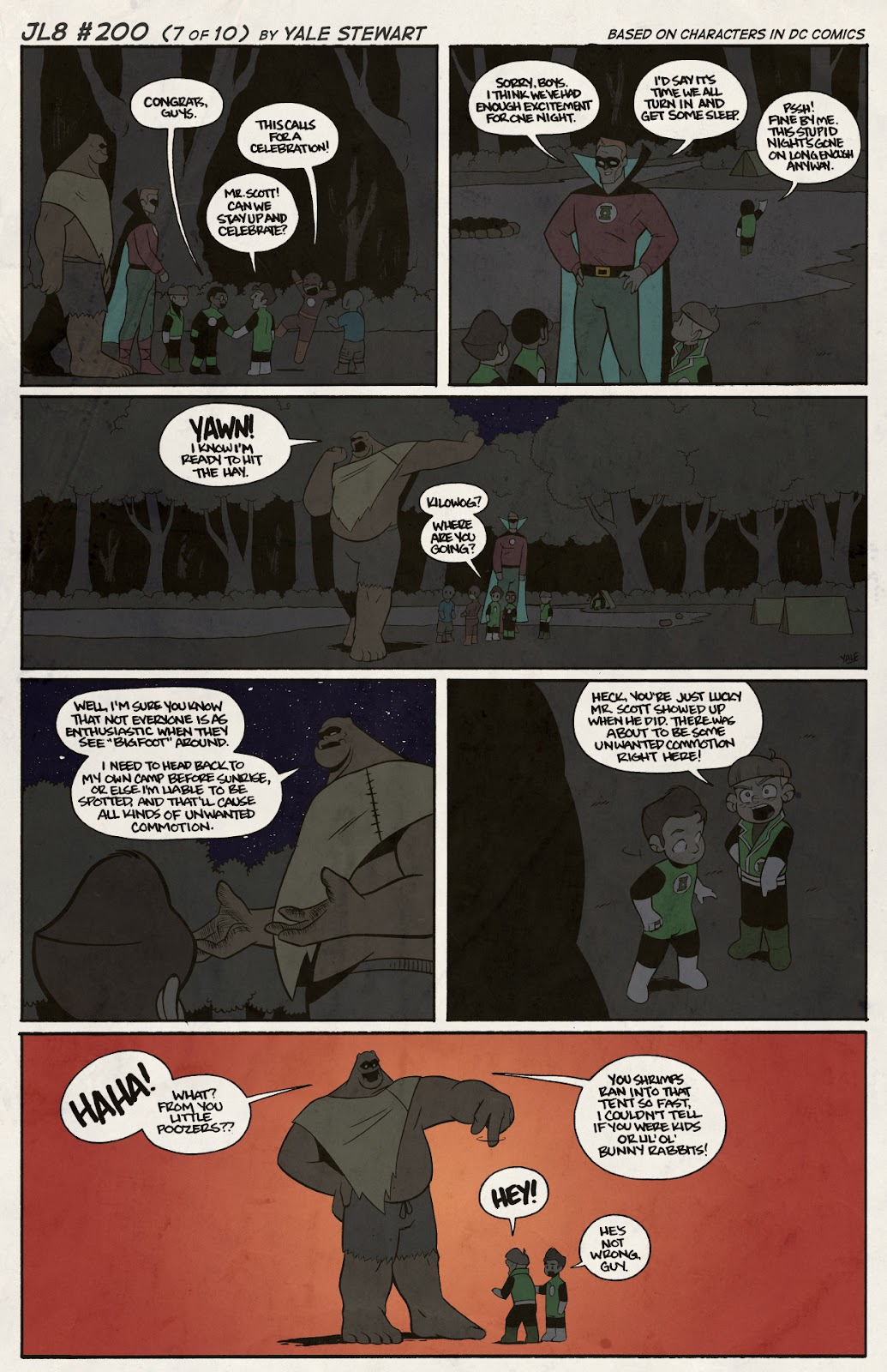 Read online JL8 – The Complete Collection comic -  Issue # TPB (Part 2) - 30