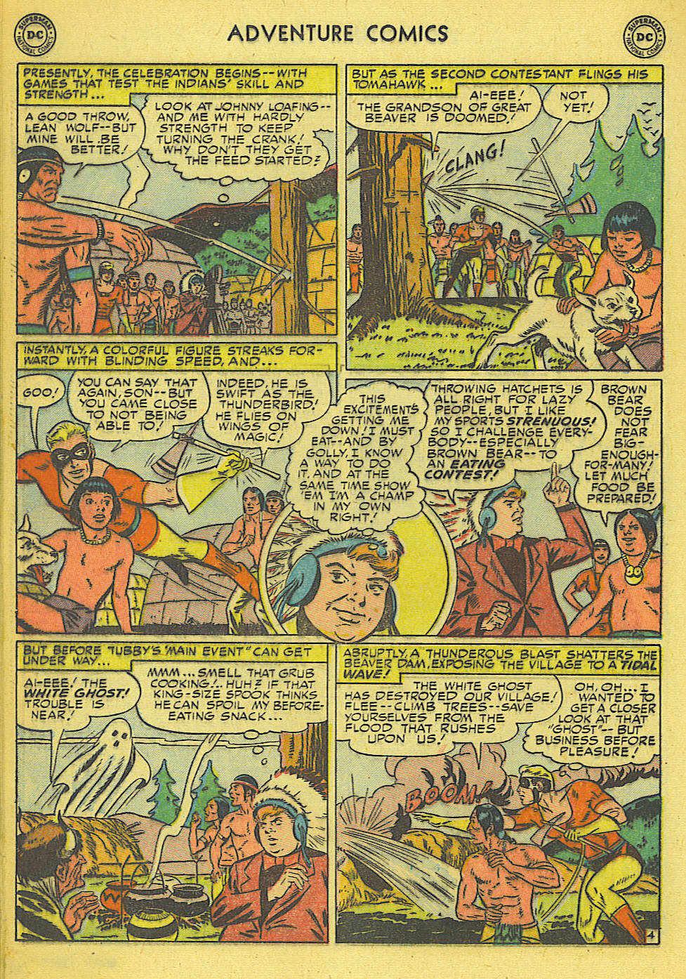 Read online Adventure Comics (1938) comic -  Issue #165 - 23