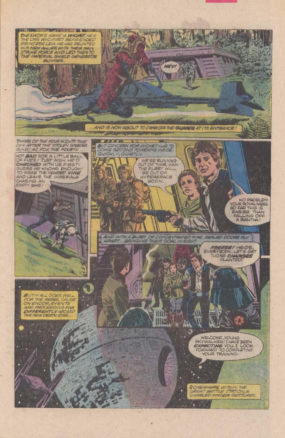 Read online Star Wars: Return of the Jedi comic -  Issue #4 - 5