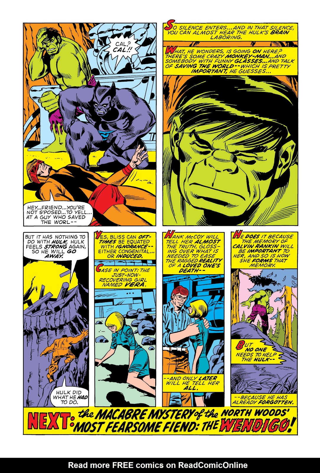 Read online Marvel Masterworks: The Incredible Hulk comic -  Issue # TPB 9 (Part 2) - 13