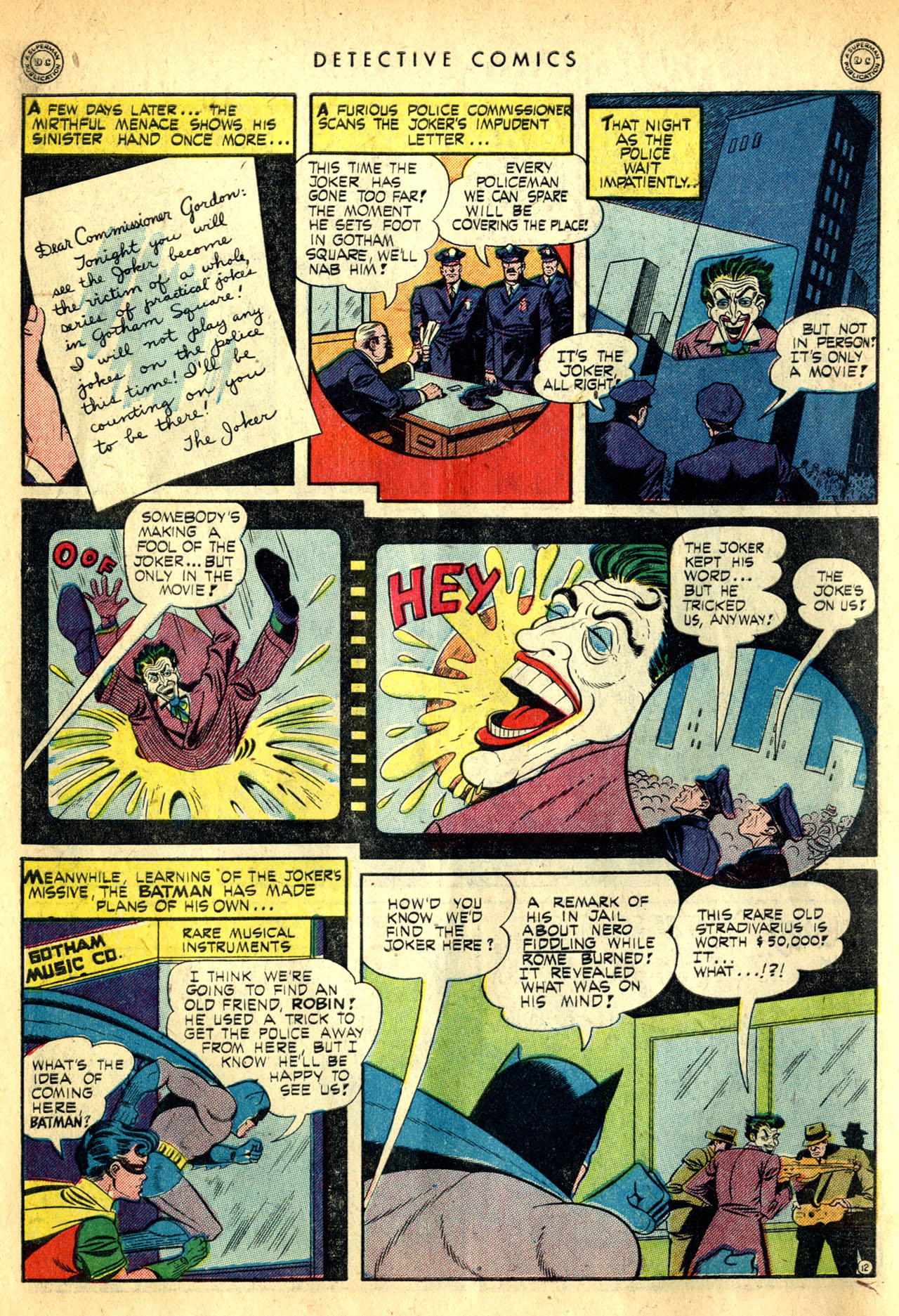 Read online Detective Comics (1937) comic -  Issue #91 - 14