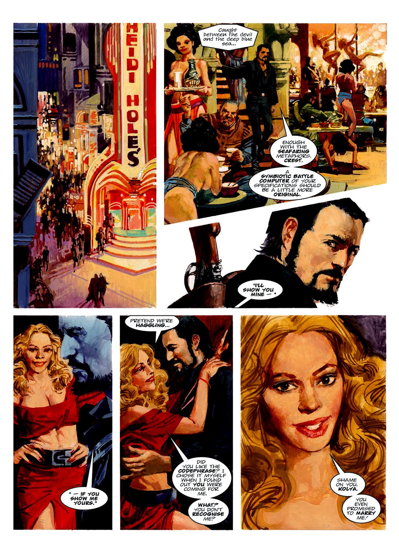 Read online Nikolai Dante comic -  Issue # TPB 6 - 161
