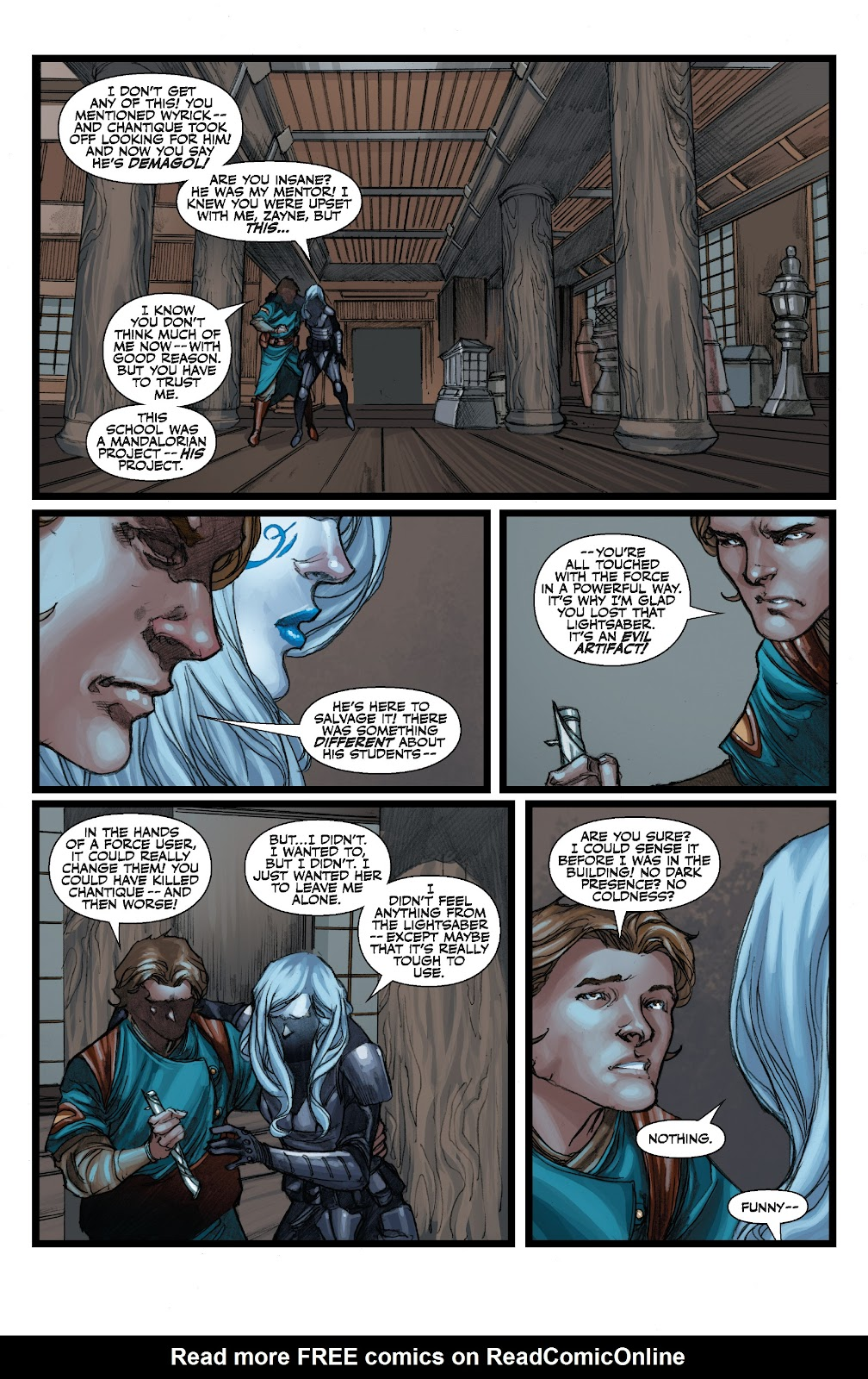Read online Star Wars Legends: The Old Republic - Epic Collection comic -  Issue # TPB 3 (Part 3) - 87