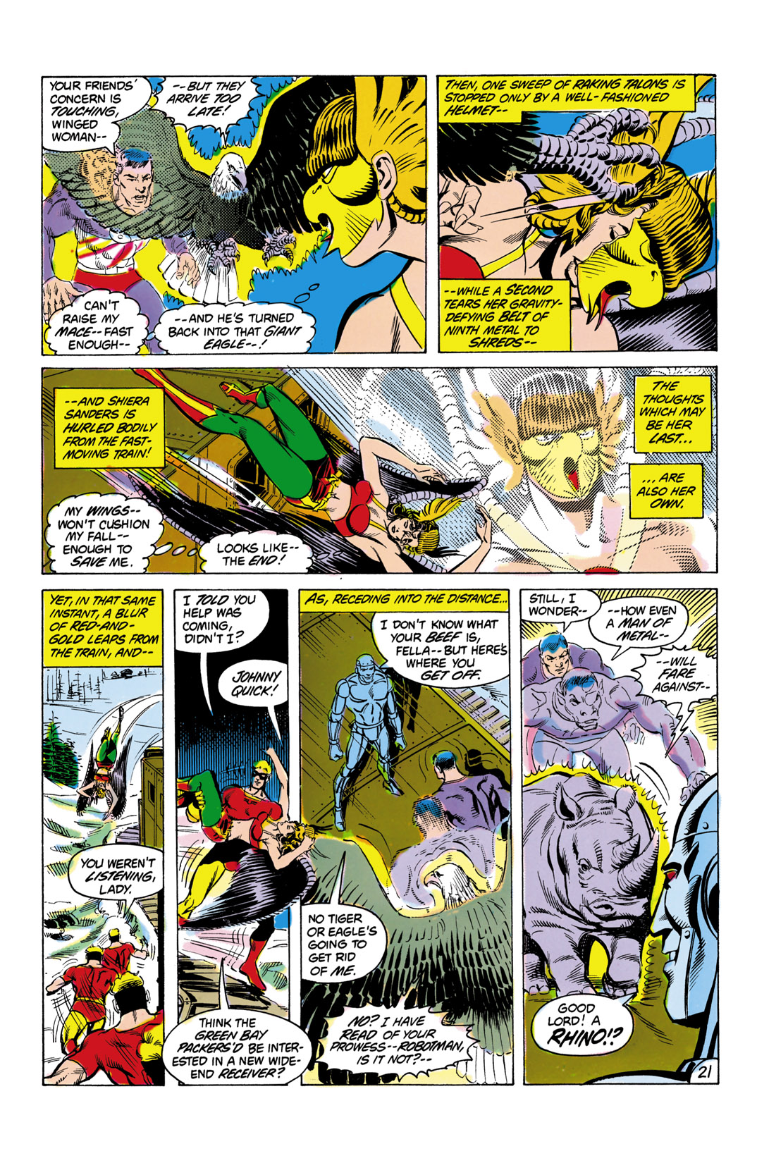 Read online All-Star Squadron comic -  Issue #8 - 22