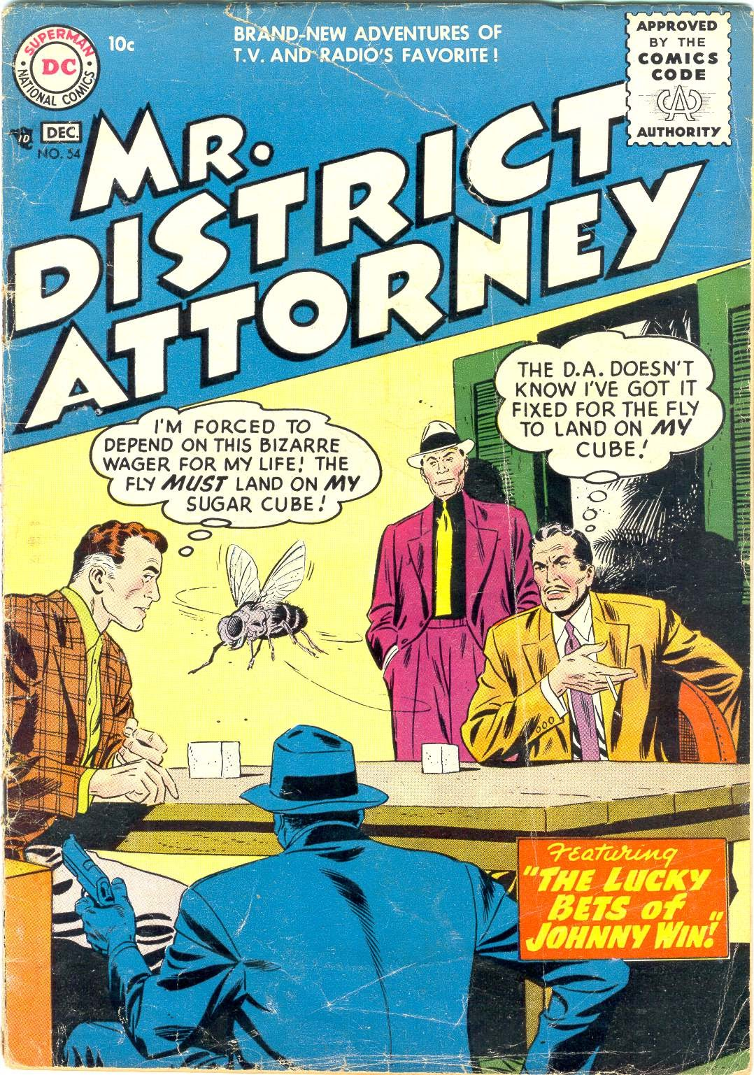 Mr. District Attorney issue 54 - Page 1