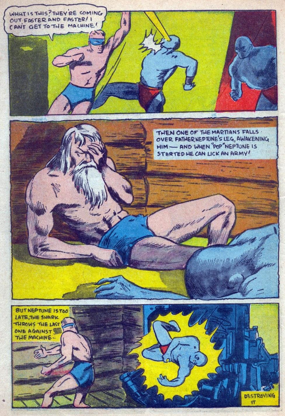 Read online Amazing Man Comics comic -  Issue #15 - 41