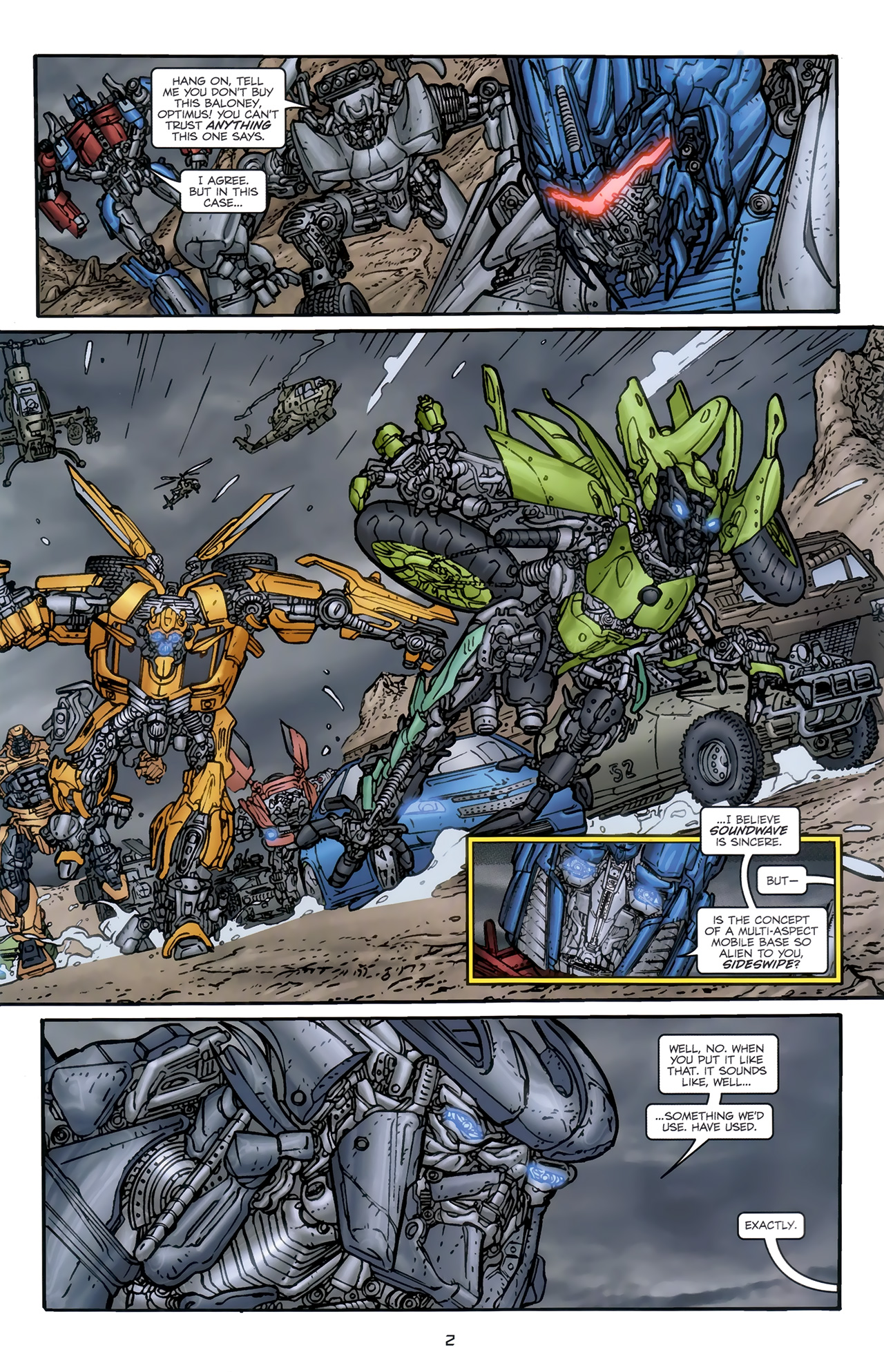 Read online Transformers: Nefarious comic -  Issue #5 - 5