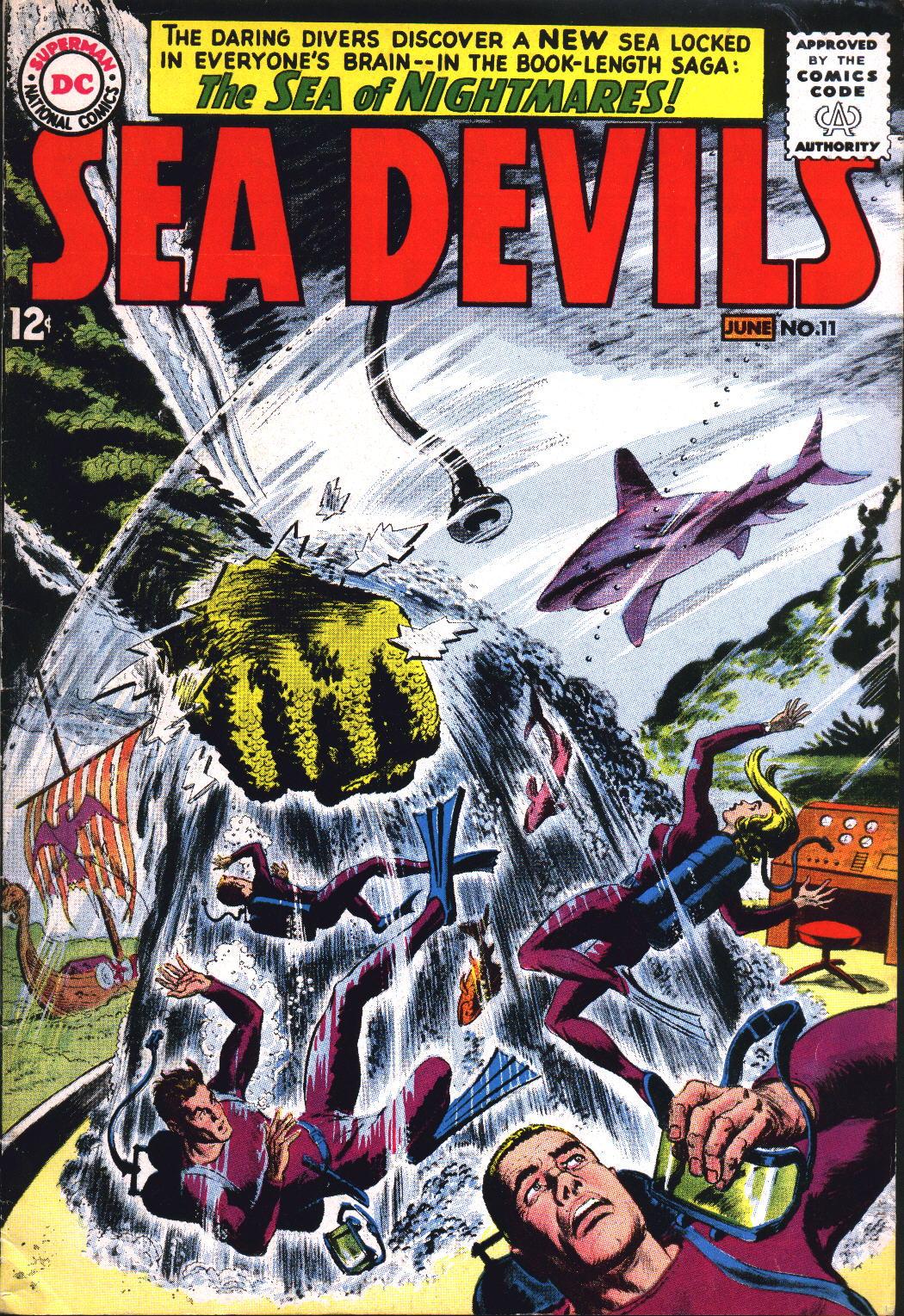 Read online Sea Devils comic -  Issue #11 - 1