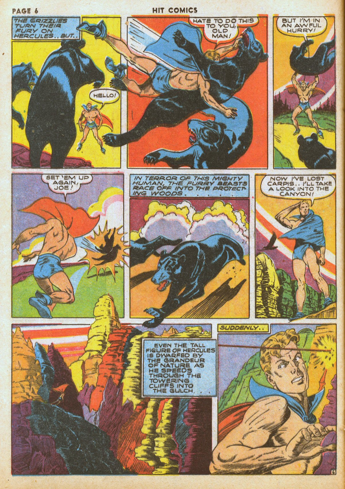 Read online Hit Comics comic -  Issue #12 - 8