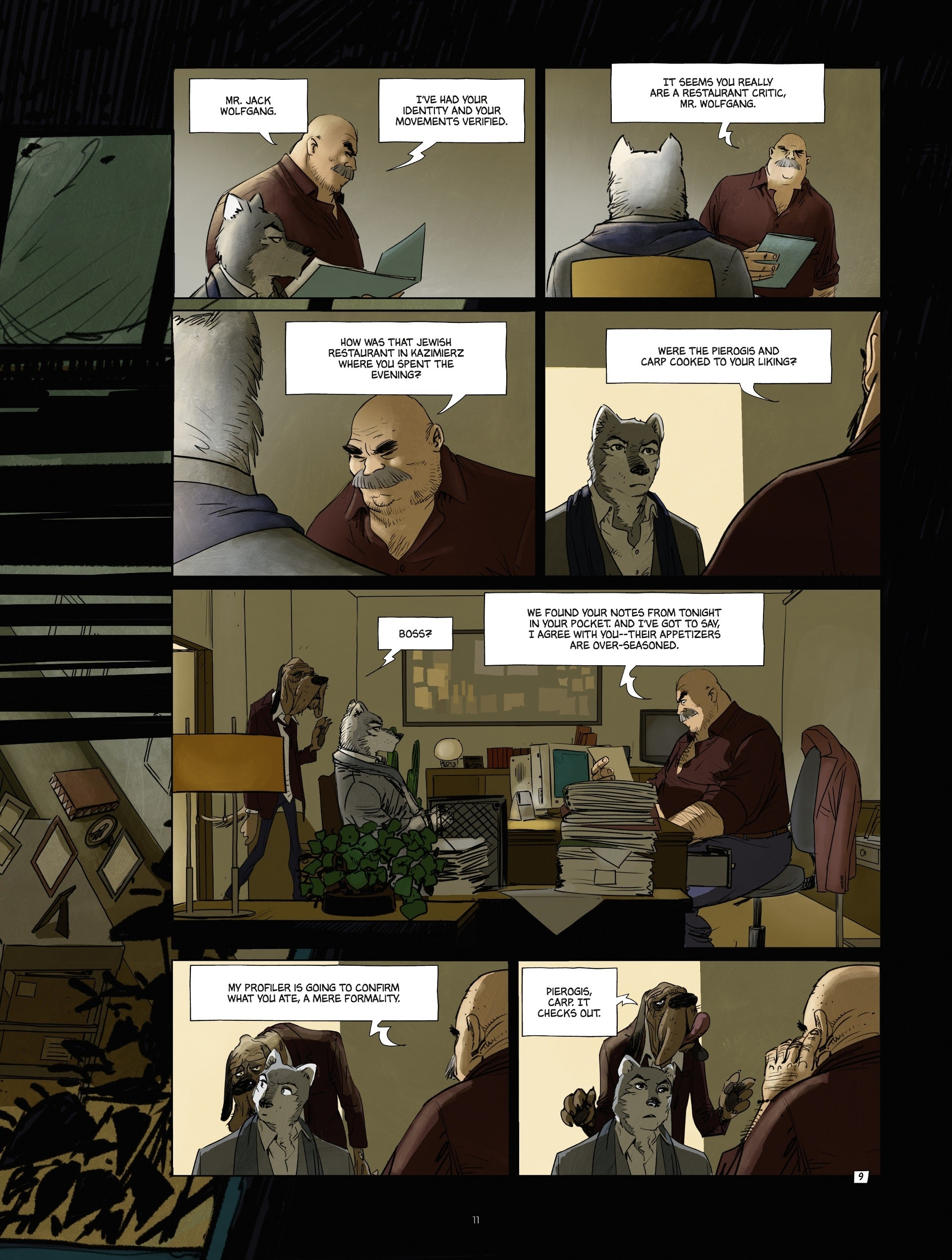 Read online Jack Wolfgang comic -  Issue #3 - 13