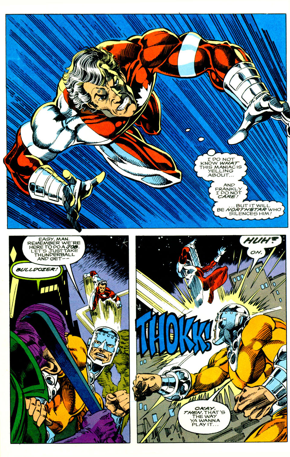 Read online Alpha Flight (1983) comic -  Issue #119 - 6