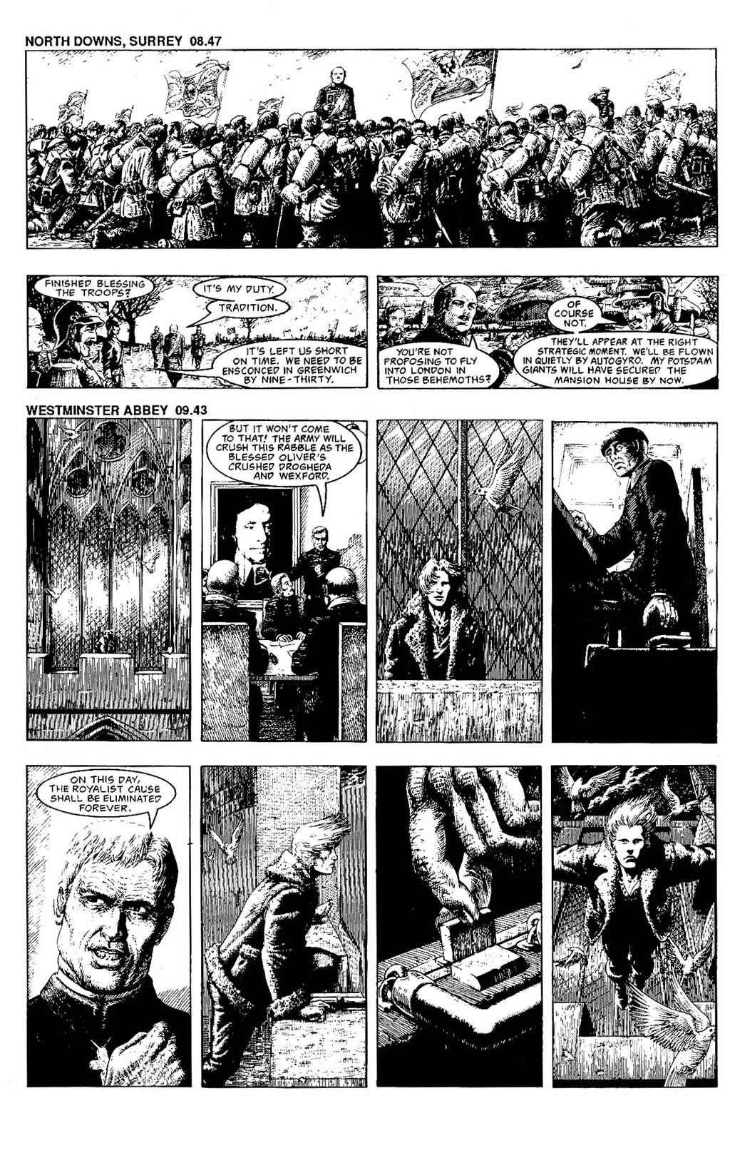 Read online The Adventures of Luther Arkwright comic -  Issue #7 - 26