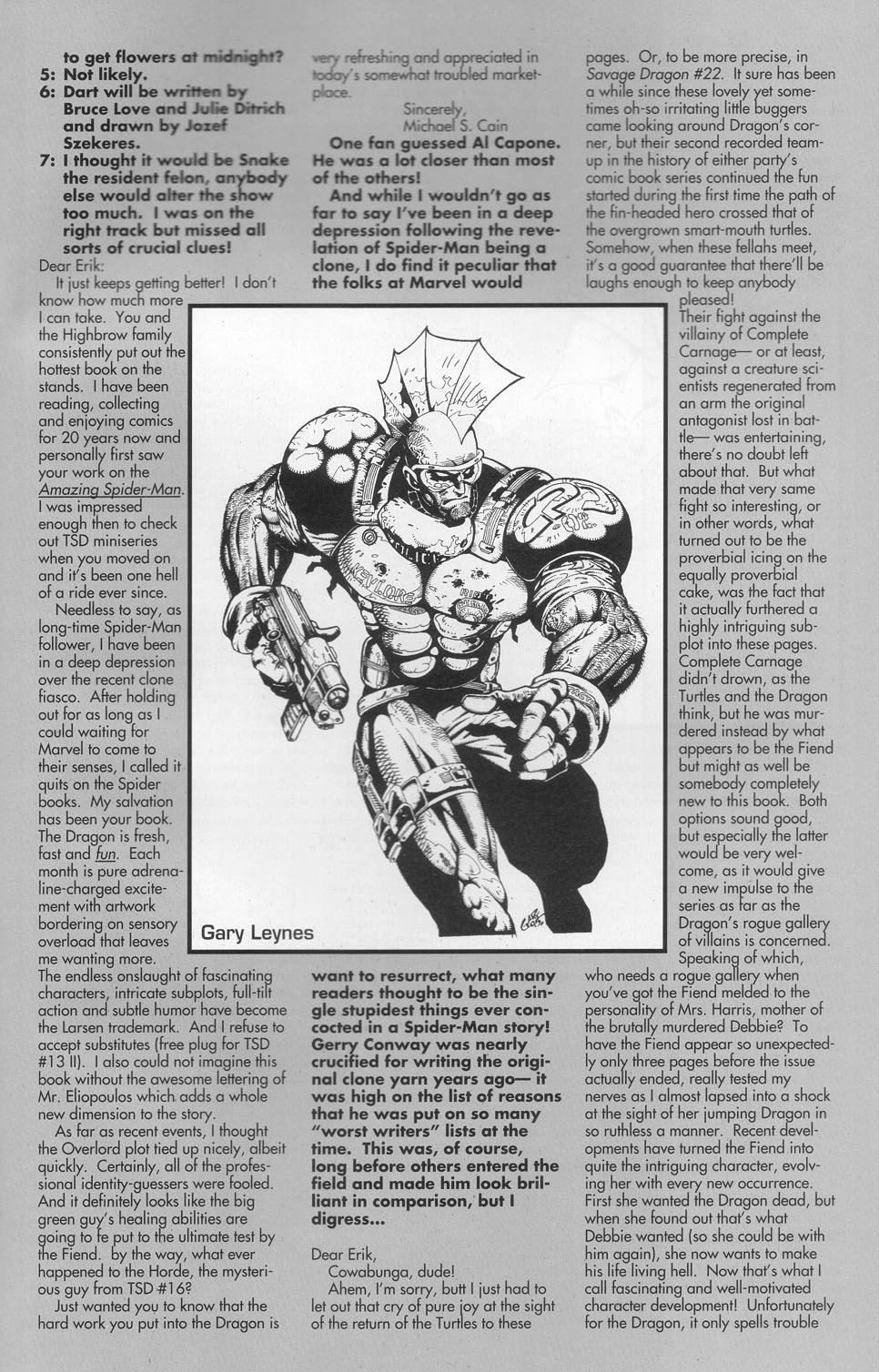 The Savage Dragon (1993) Issue #23 #26 - English 28
