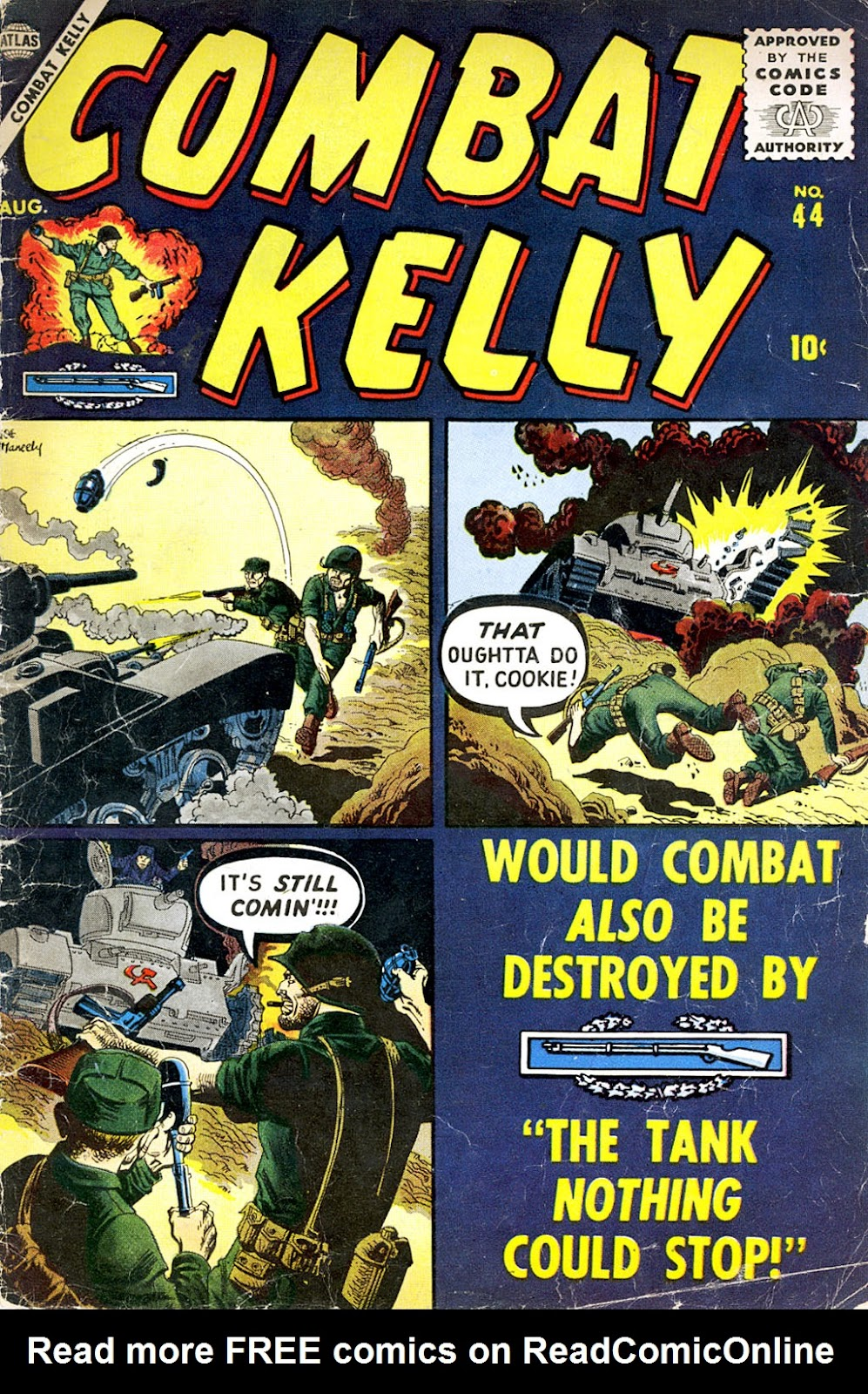 Combat Kelly (1951) issue 44 - Page 1