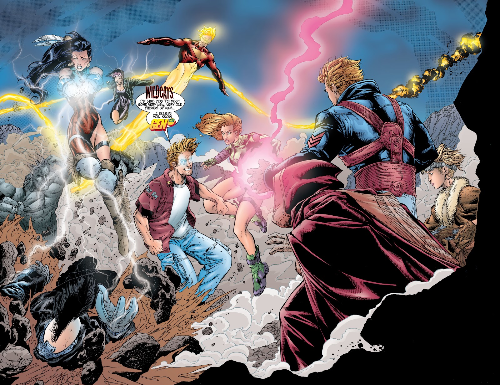 Read online Divine Right comic -  Issue # _TPB The Adventures of Max Faraday (Part 4) - 2