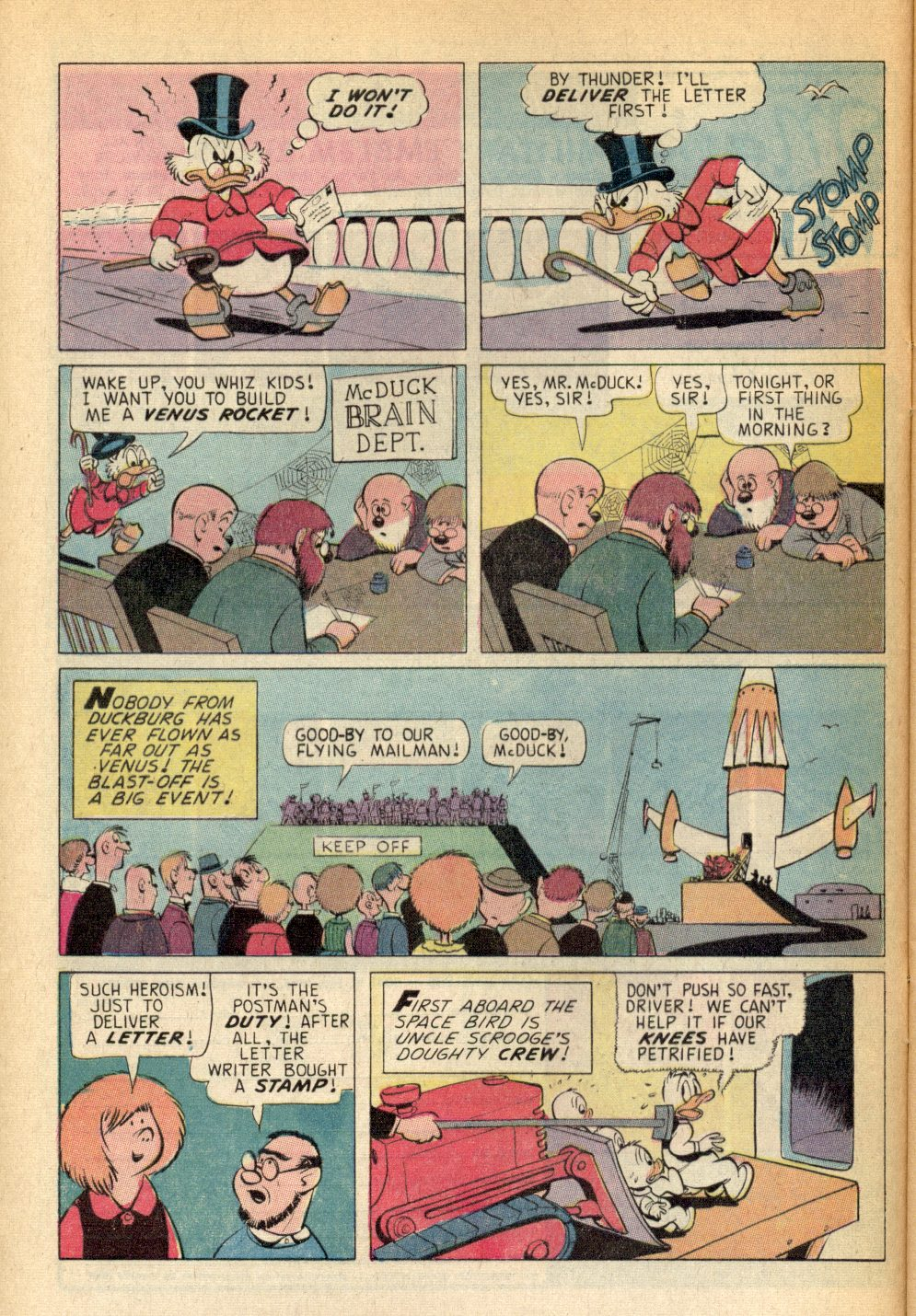Read online Uncle Scrooge (1953) comic -  Issue #94 - 8