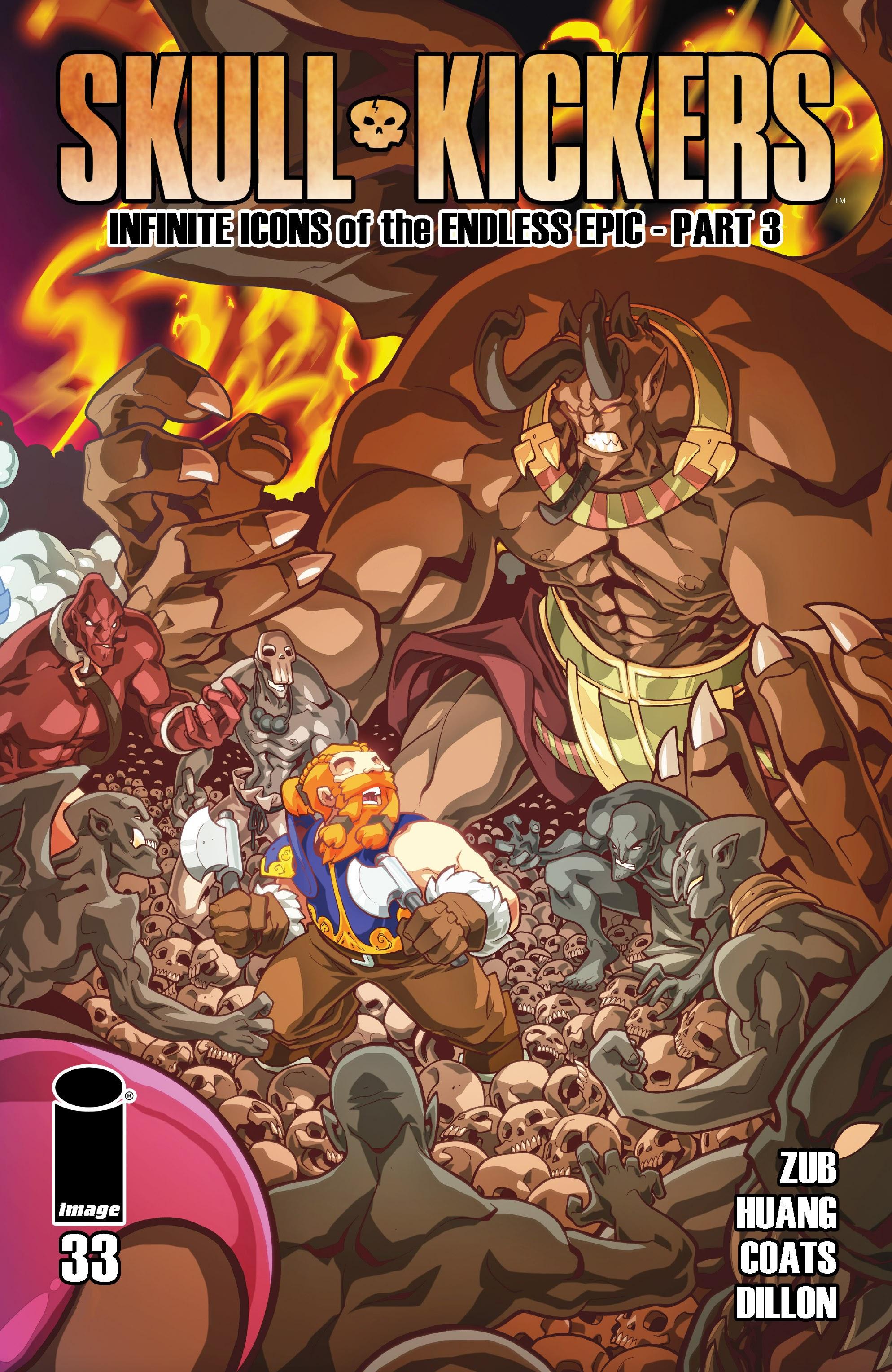 Read online Skullkickers comic -  Issue #33 - 1