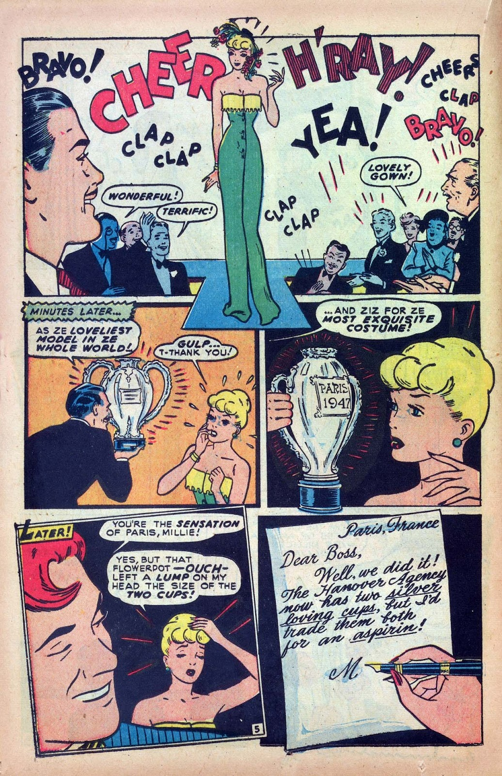 Read online Millie the Model comic -  Issue #9 - 24